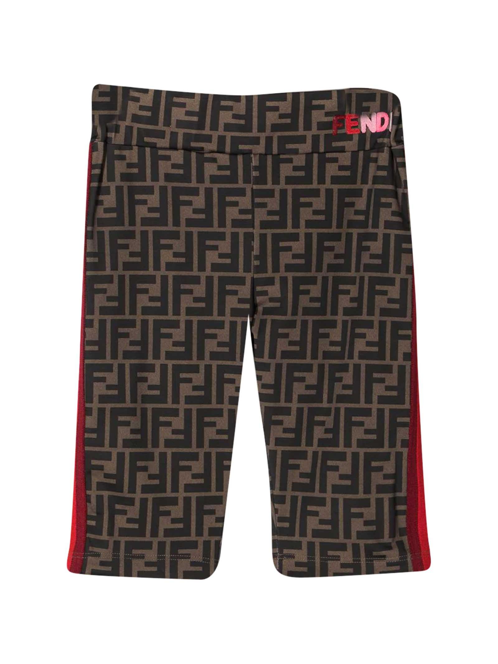 Fendi Zucca Shorts