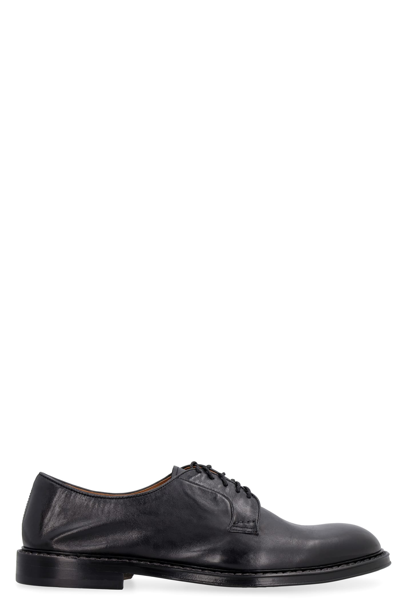 Doucals Leather Lace-up Derby Shoes