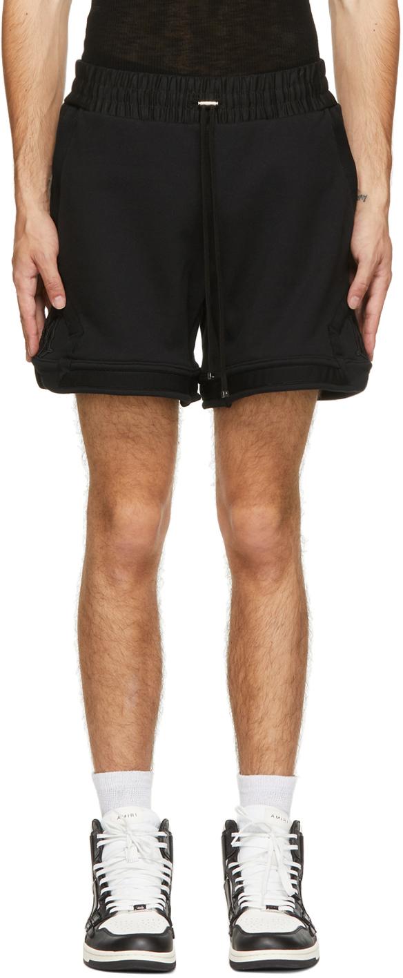 AMIRI 黑色 Basketball 短裤
