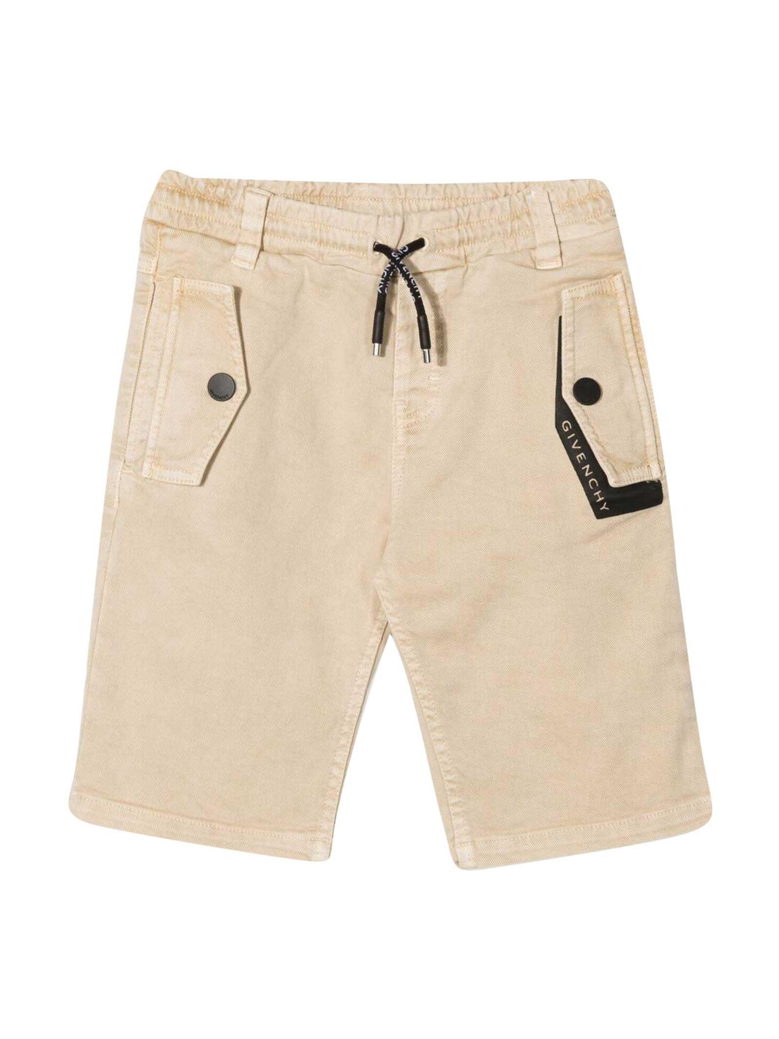 Givenchy Sand Bermuda Shorts