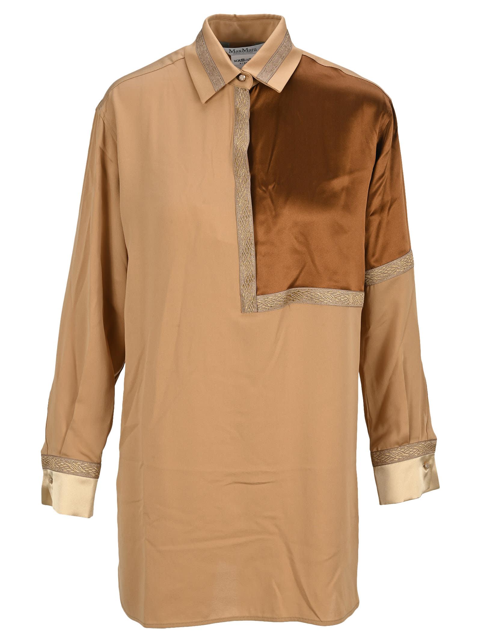 Max Mara Oversize Silk Shirt