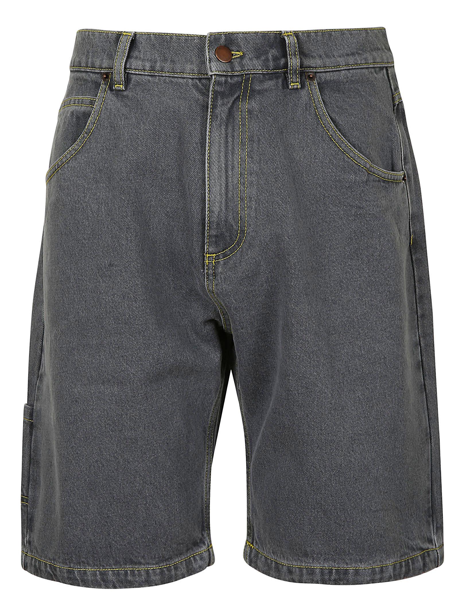 PACCBET Denim Baggy Short Pants