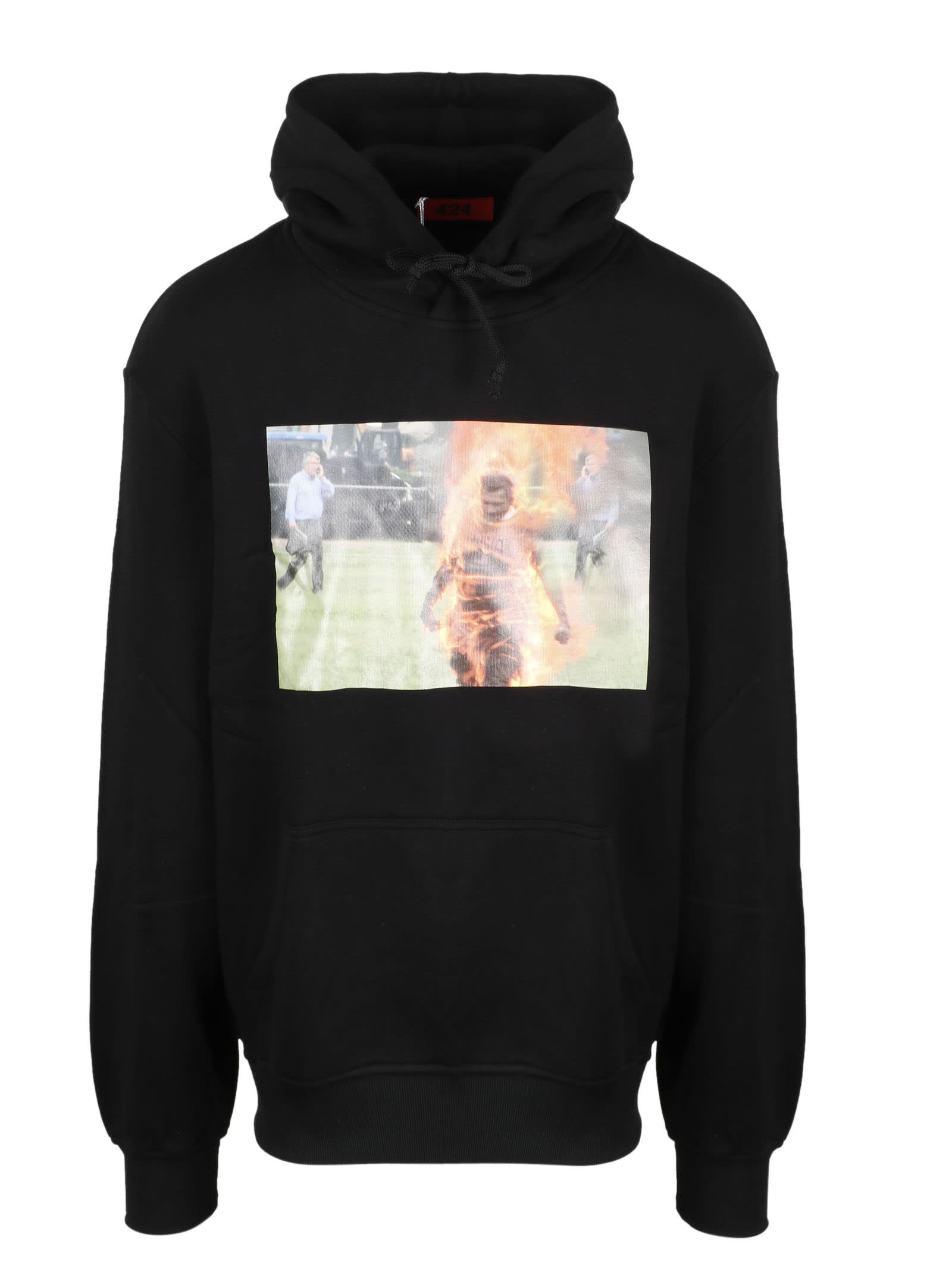 FourTwoFour on Fairfax Printed Hoodie