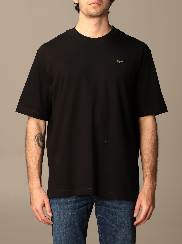 Lacoste L!ve T-shirt Lacoste L!ve Cotton T-shirt With Mini Logo