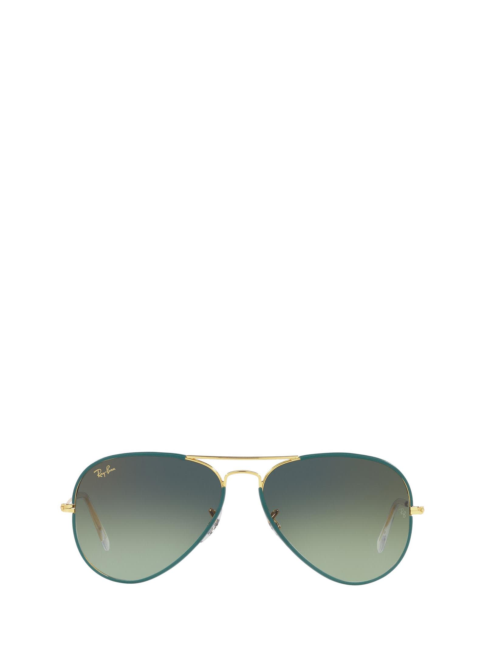 Ray-Ban Ray-ban Rb3025jm Petroleum On Legend Gold Sunglasses