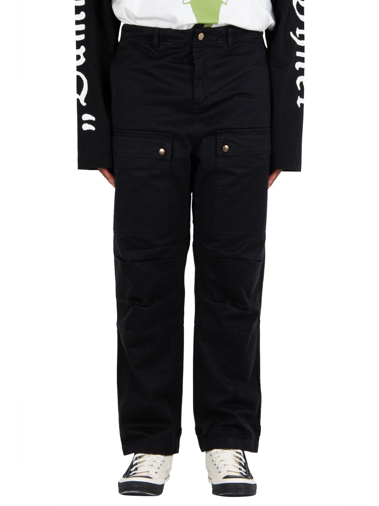 Vyner Articles Wit Cargo Pant - Black