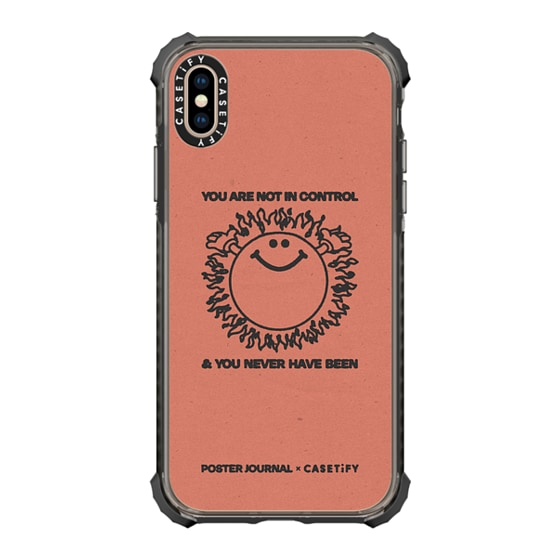 CASETiFY iPhone Xs Max Ultra Impact Case - Control
