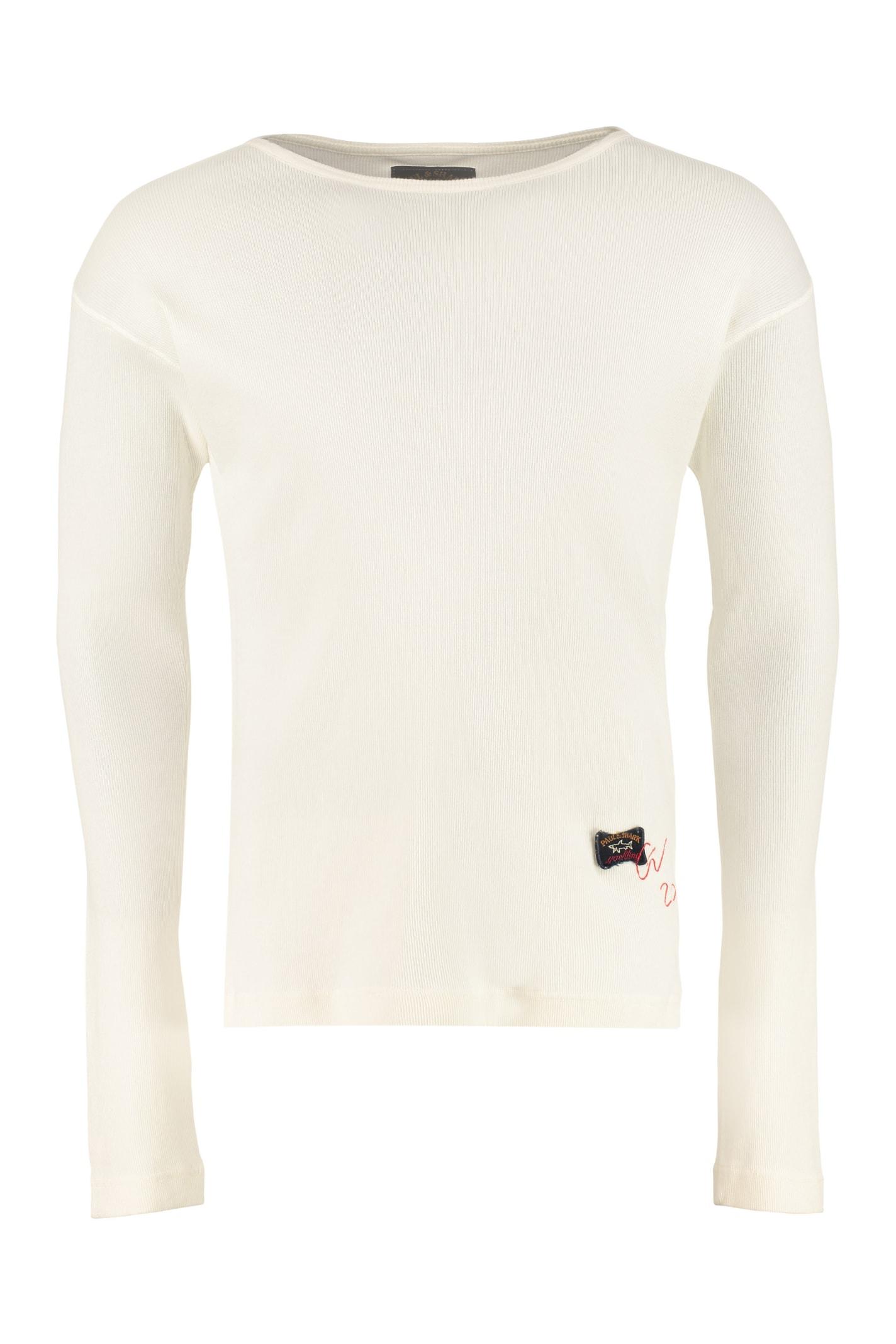 Paul & Shark Long-sleeve Cotton T-shirt