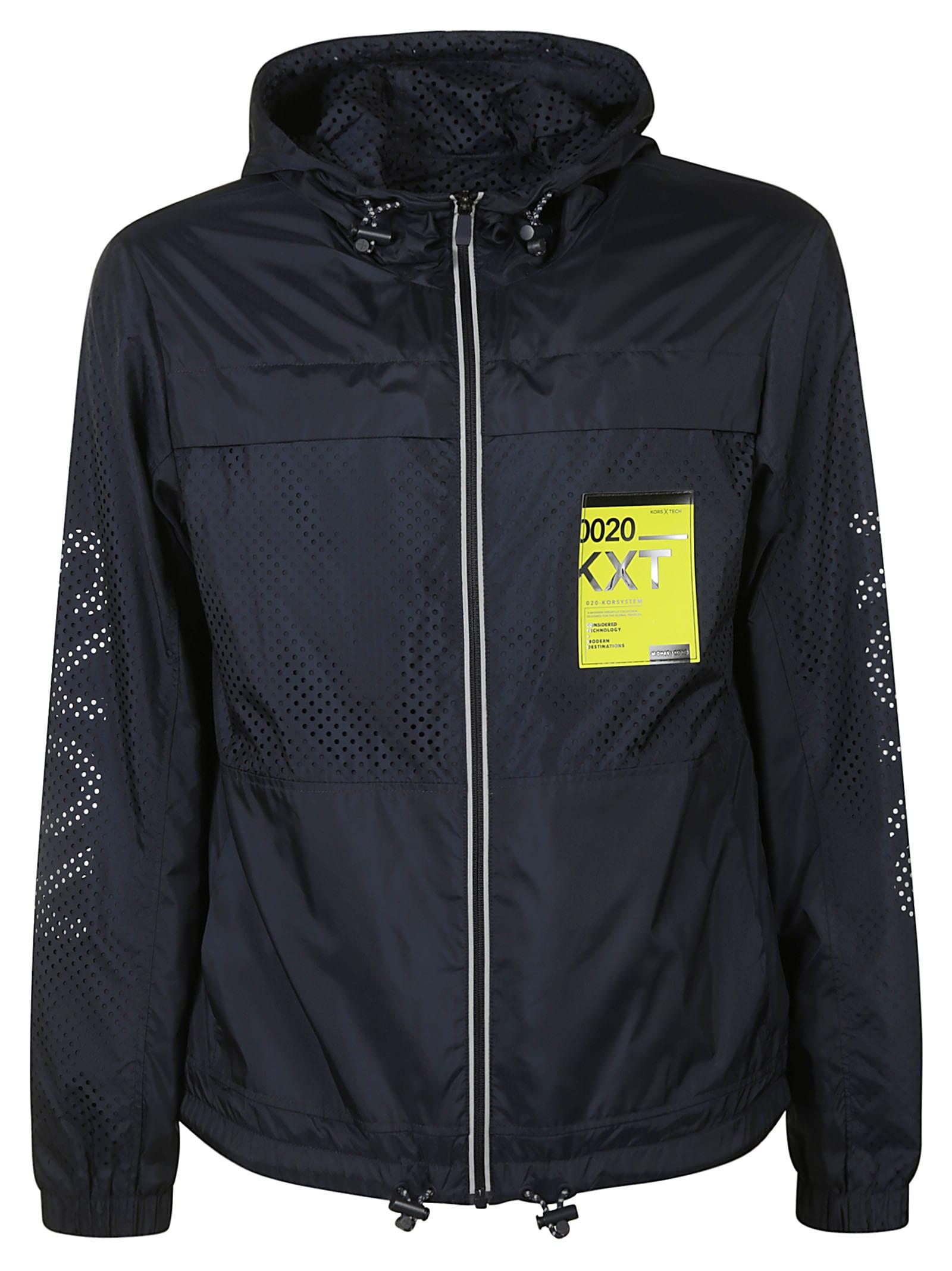 Michael Kors Perforated Zip Jacket