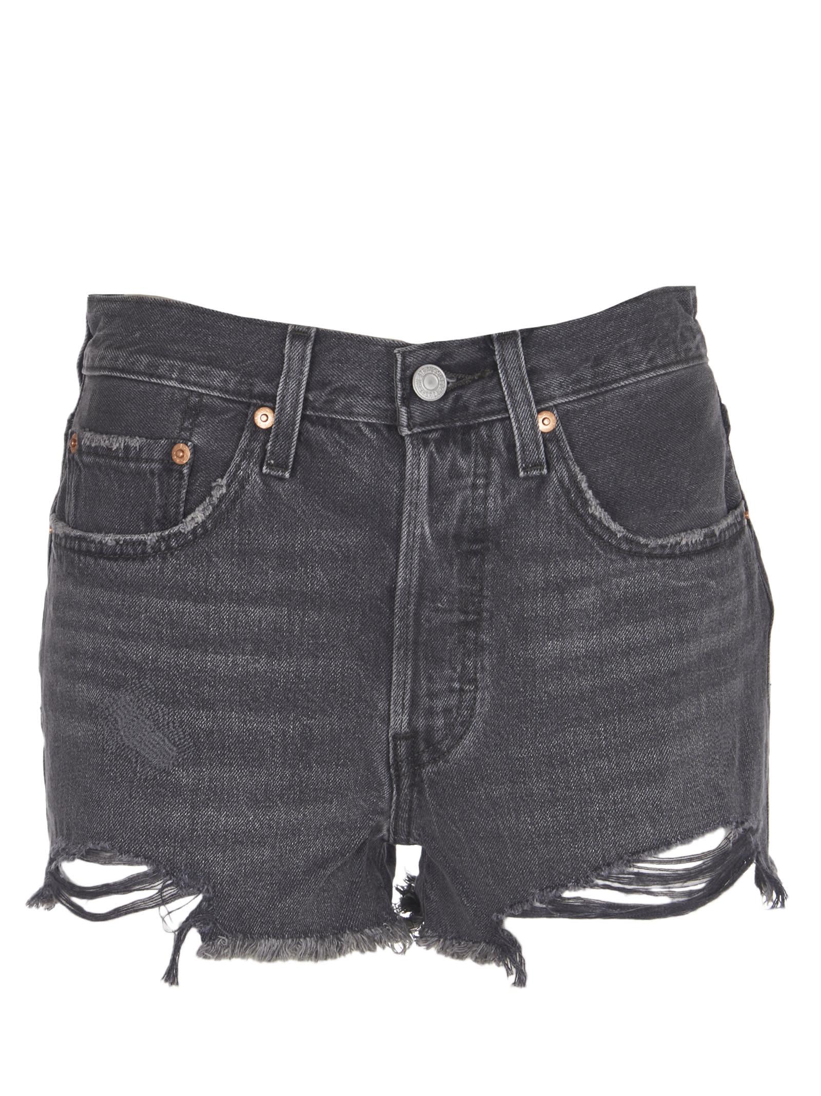 Levis Black 501 Shorts