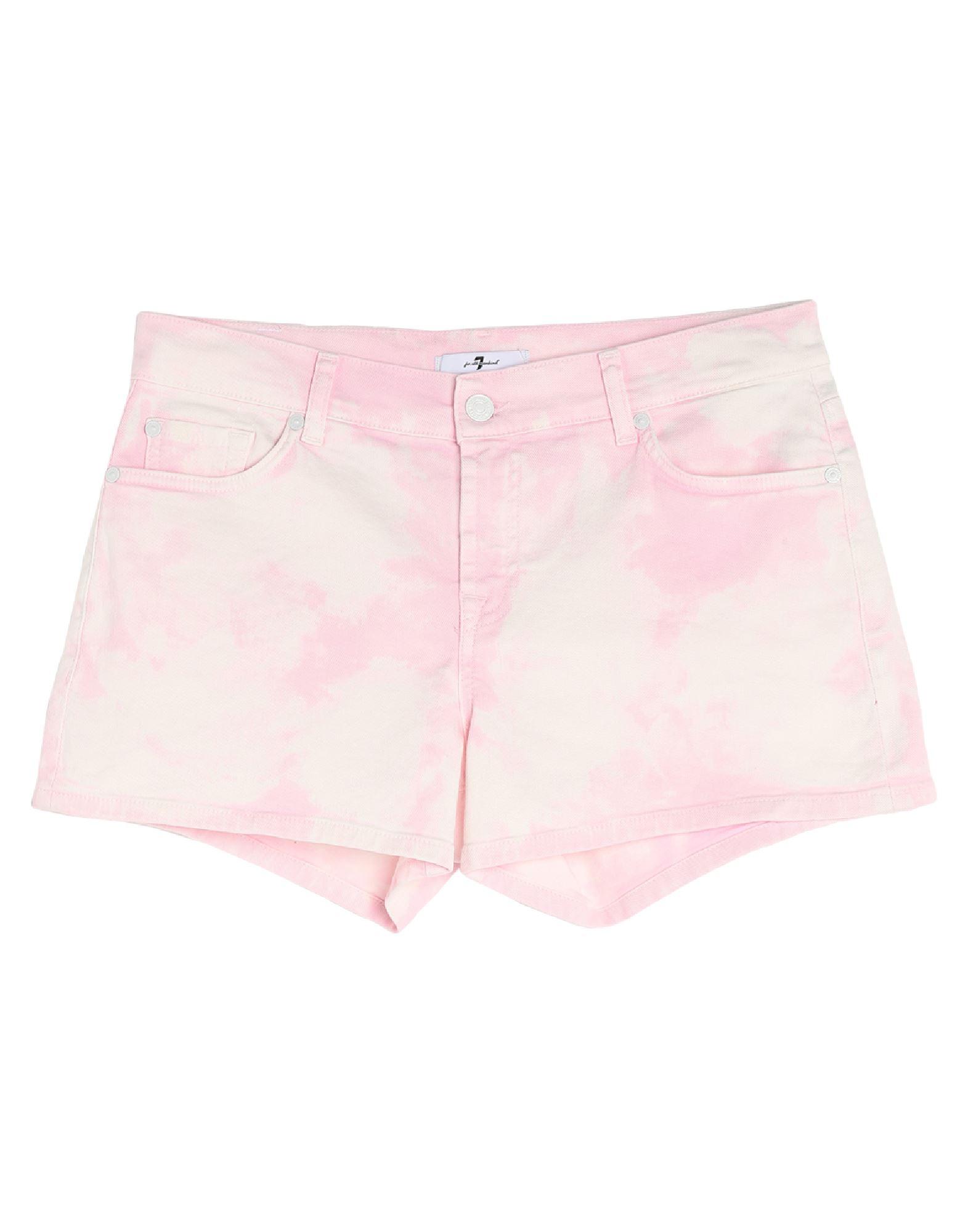 7 FOR ALL MANKIND Denim shorts - Item 42781489