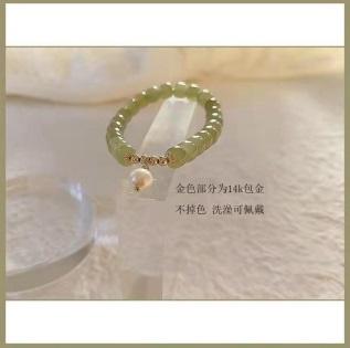 和田玉珍珠手鍊