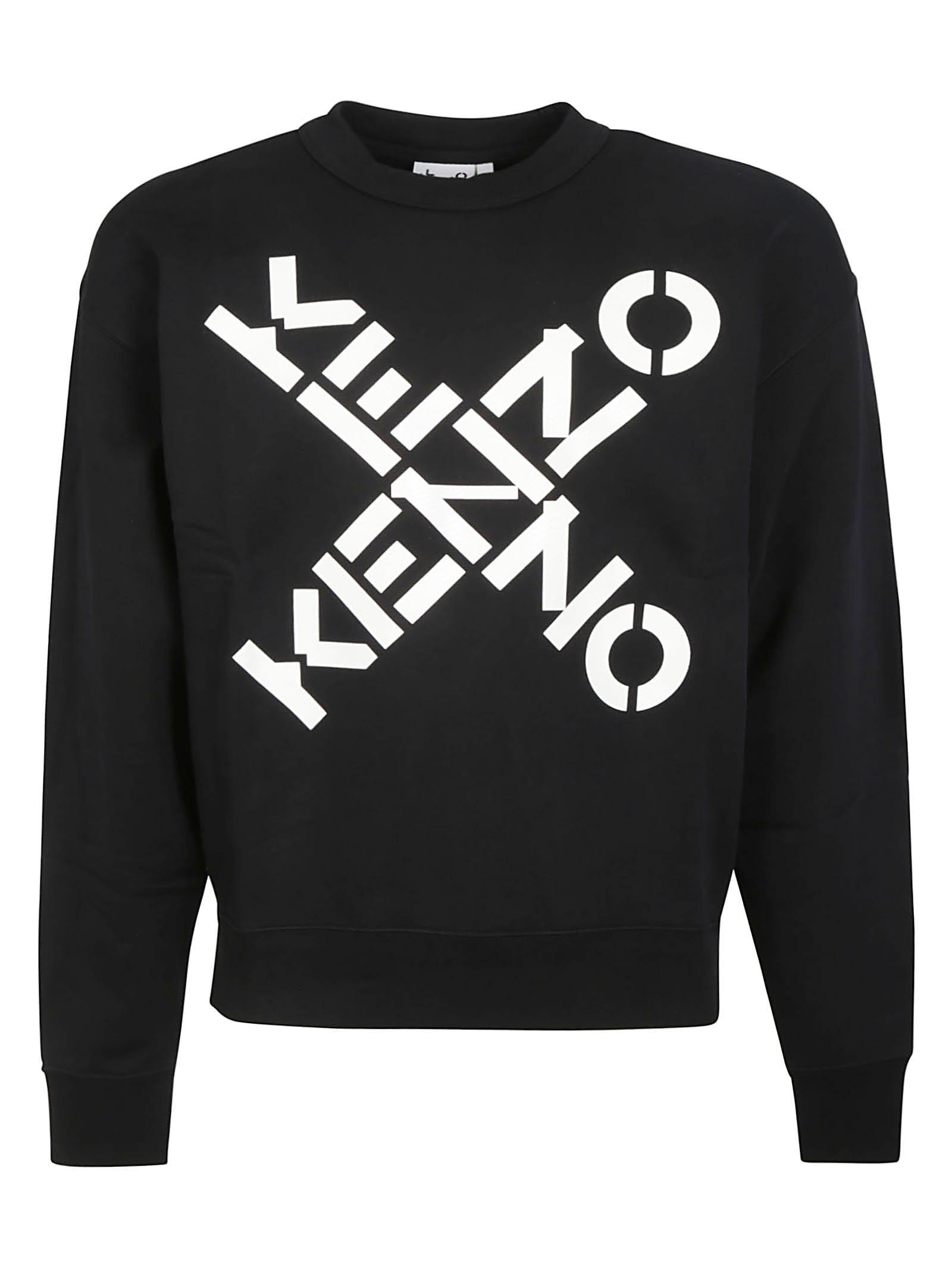Kenzo Cross Logo Sweatshirt