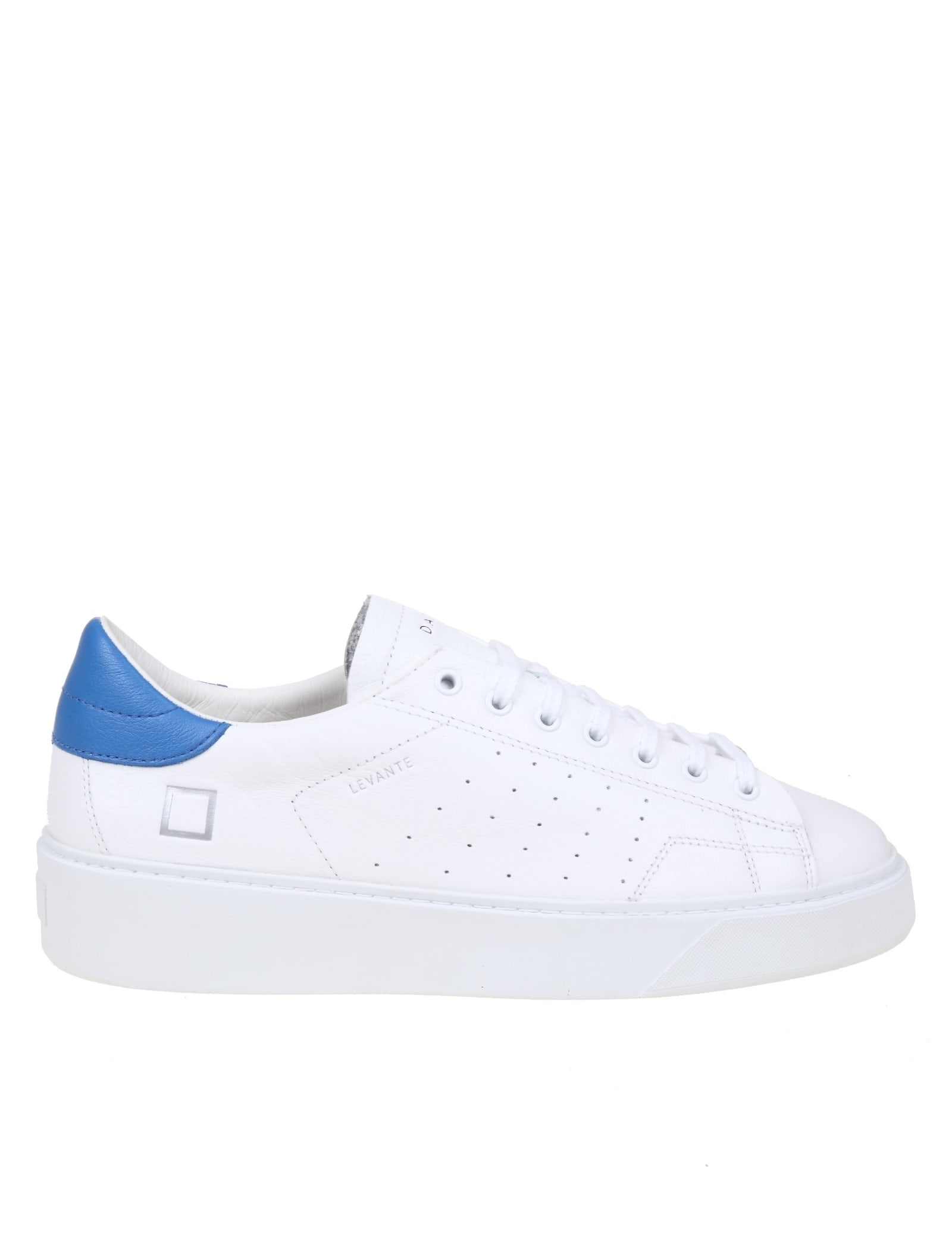 D.a.t.e. Levante Snakers In White Leather