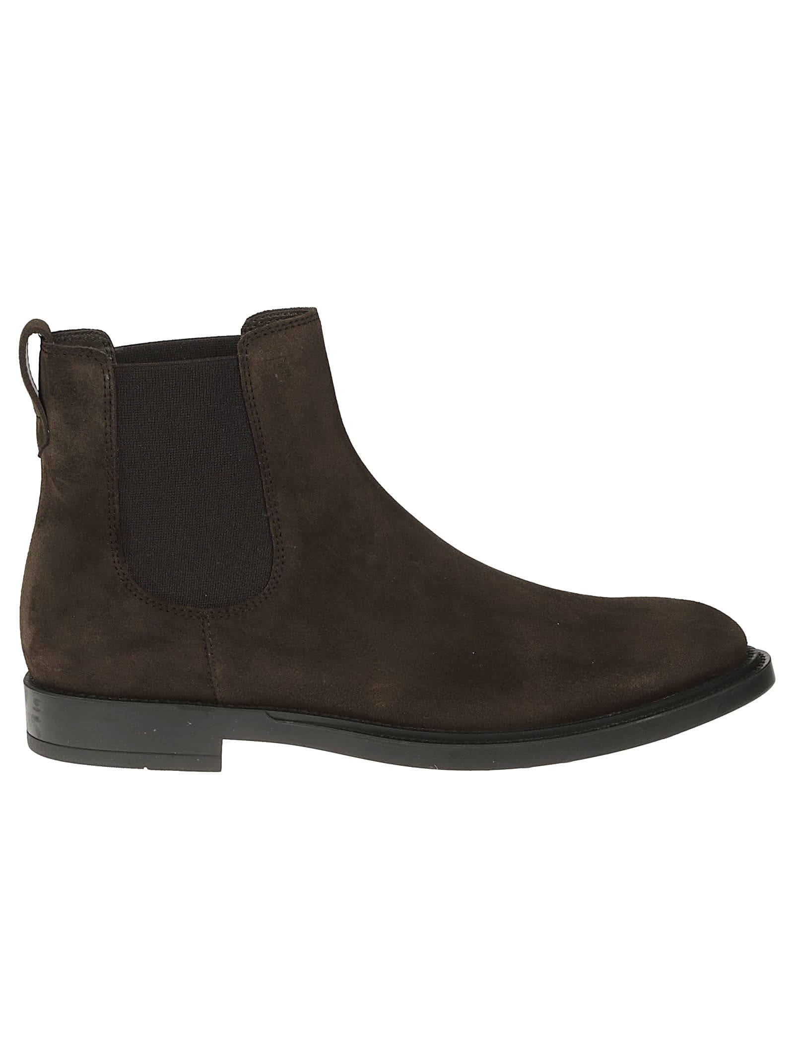 Tods Elastic Side Panel Chelsea Boots