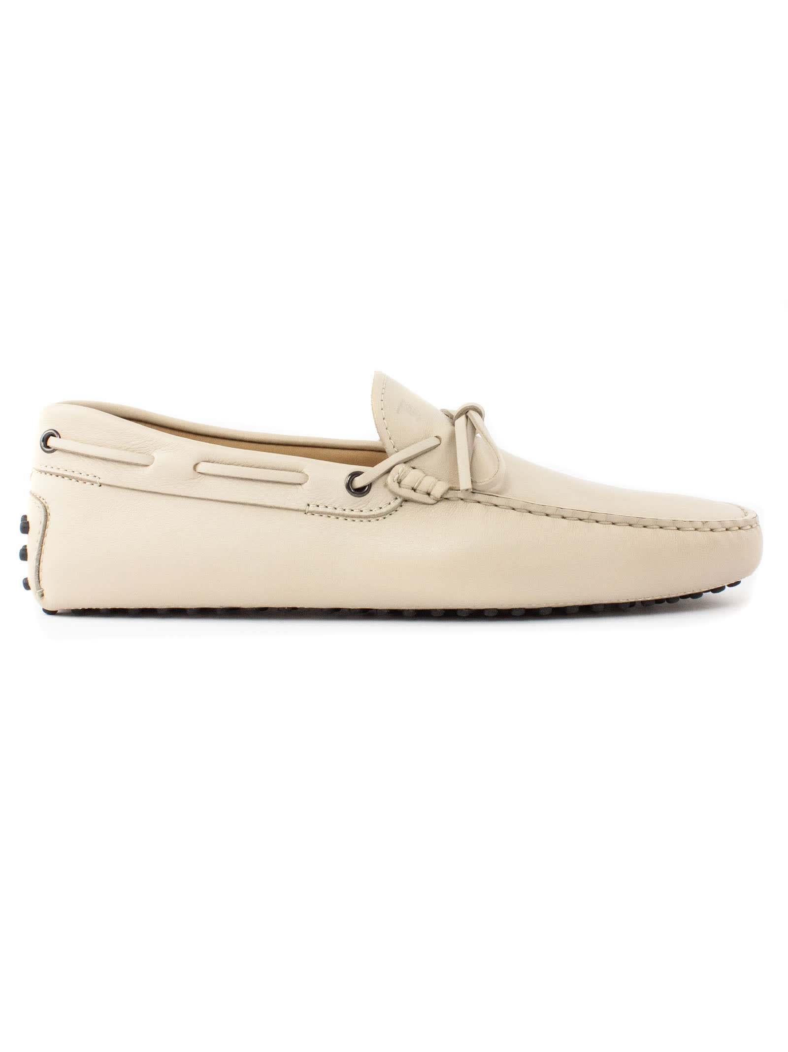 Tods Beige Gommino Driving Shoes