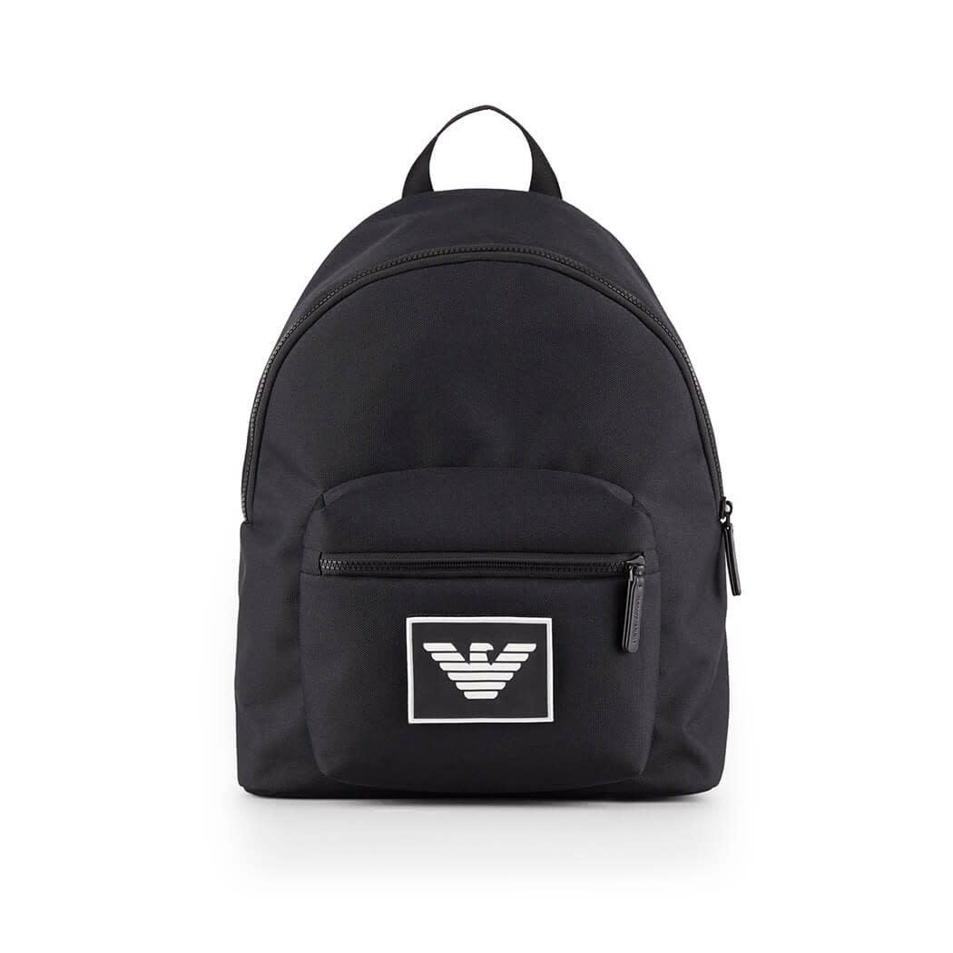 Emporio Armani Black Backpack