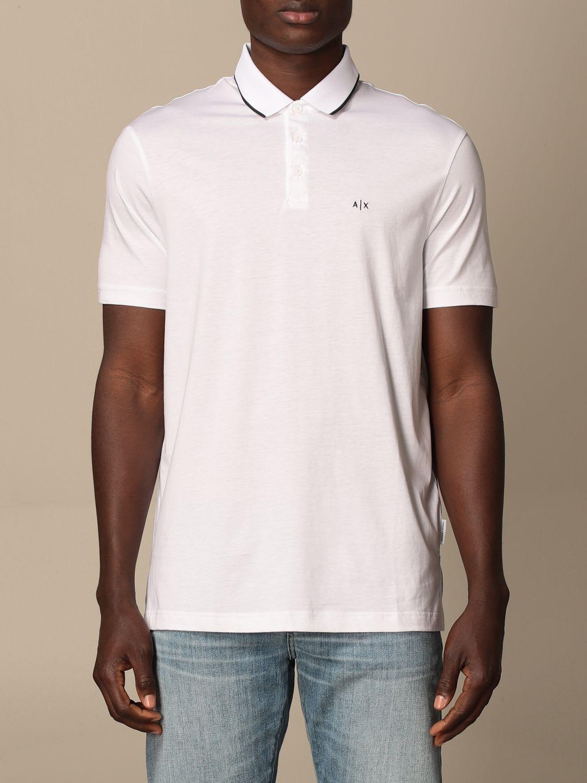 Armani Collezioni Armani Exchange Polo Shirt Armani Exchange Basic Cotton Polo Shirt