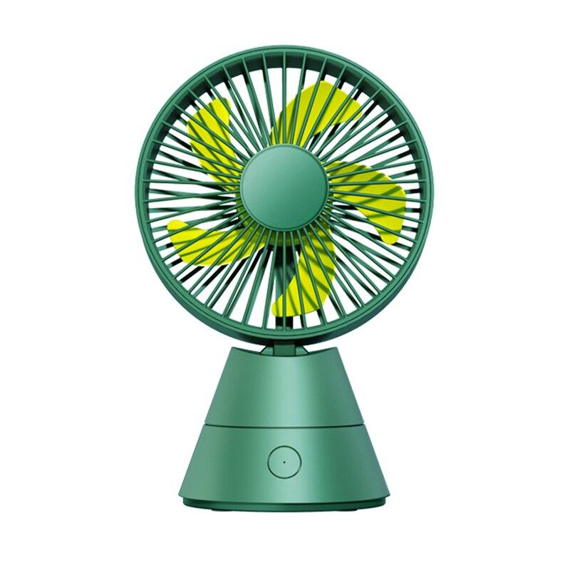 搖頭迷你桌面小風扇usb可充電便攜式小型隨身學生宿舍床可愛掛嬰兒車手拿持辦公室桌上脖超靜音大風力電風扇