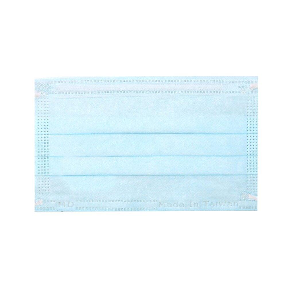 (任選8盒享9折)麥迪康 Medicom 雙鋼印 兒童醫療口罩 (藍色) 50入/盒 (中衛 3M 萊潔 台灣製 CNS14774) 專品藥局【2016410】