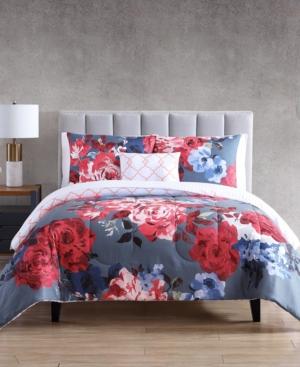 Gissing 12-Pc. Reversible King Comforter Set Bedding