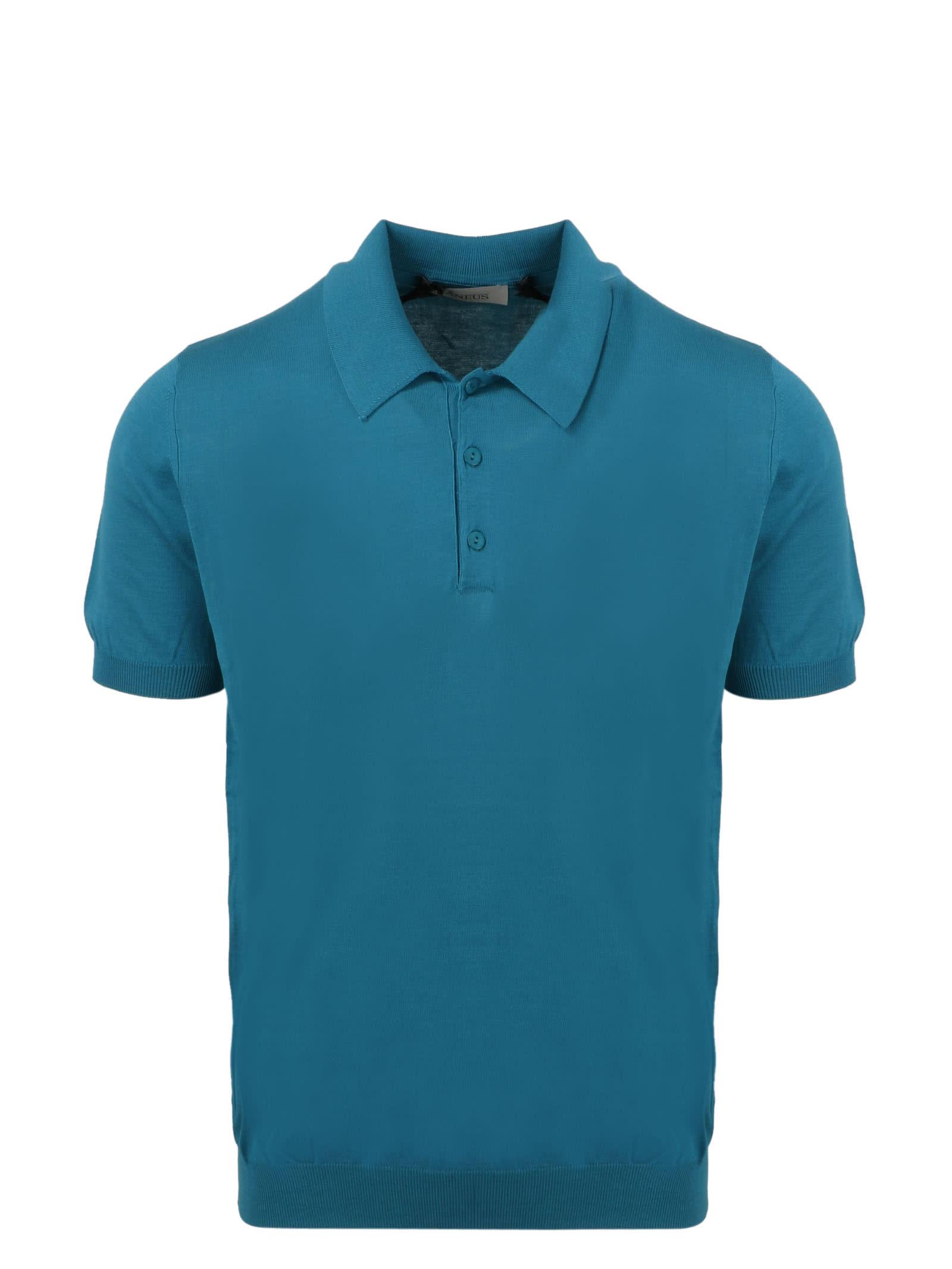 Laneus Short Sleeve Knit Polo