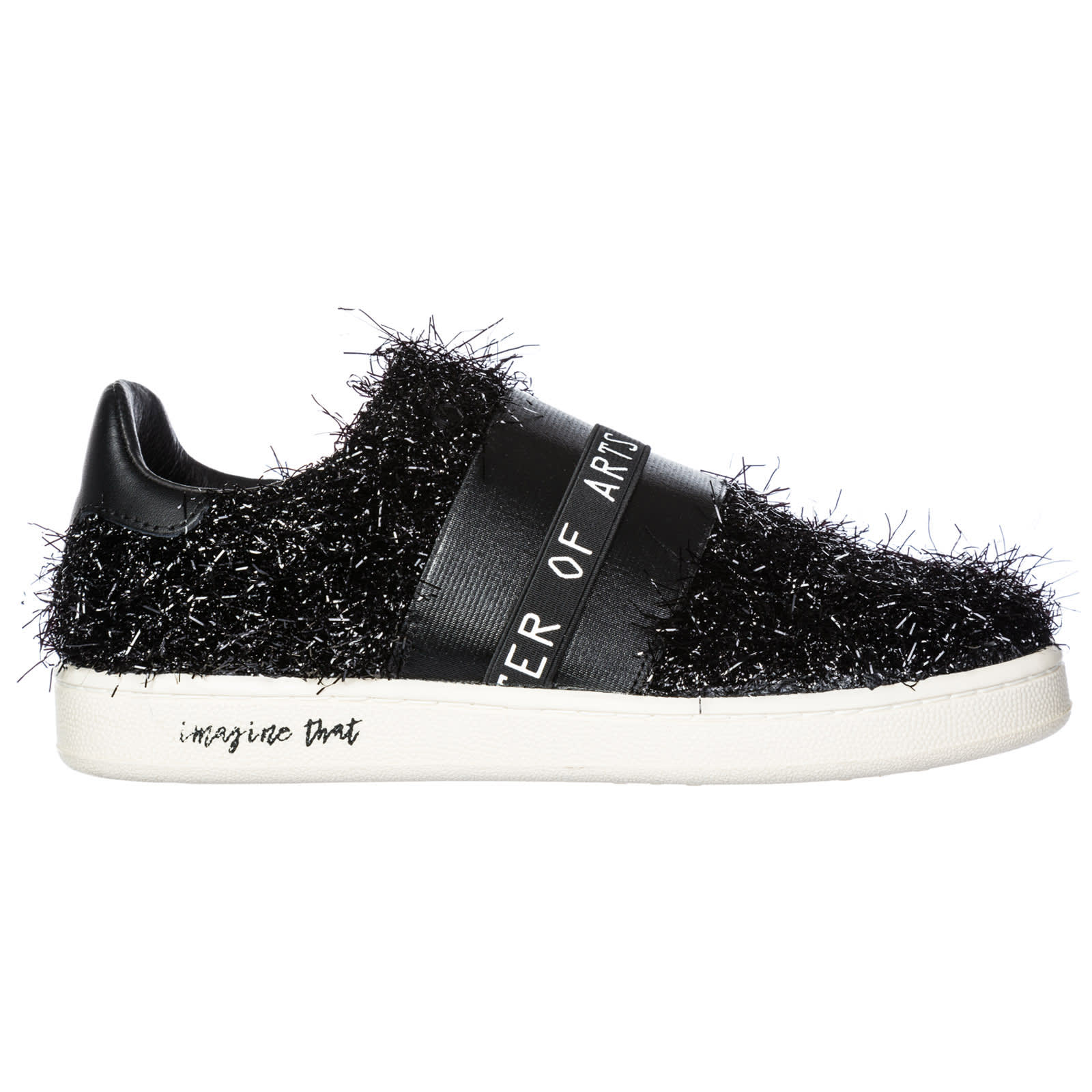 M.O.A. master of arts Moa Master Of Arts Gallery Furry Slip-on Shoes