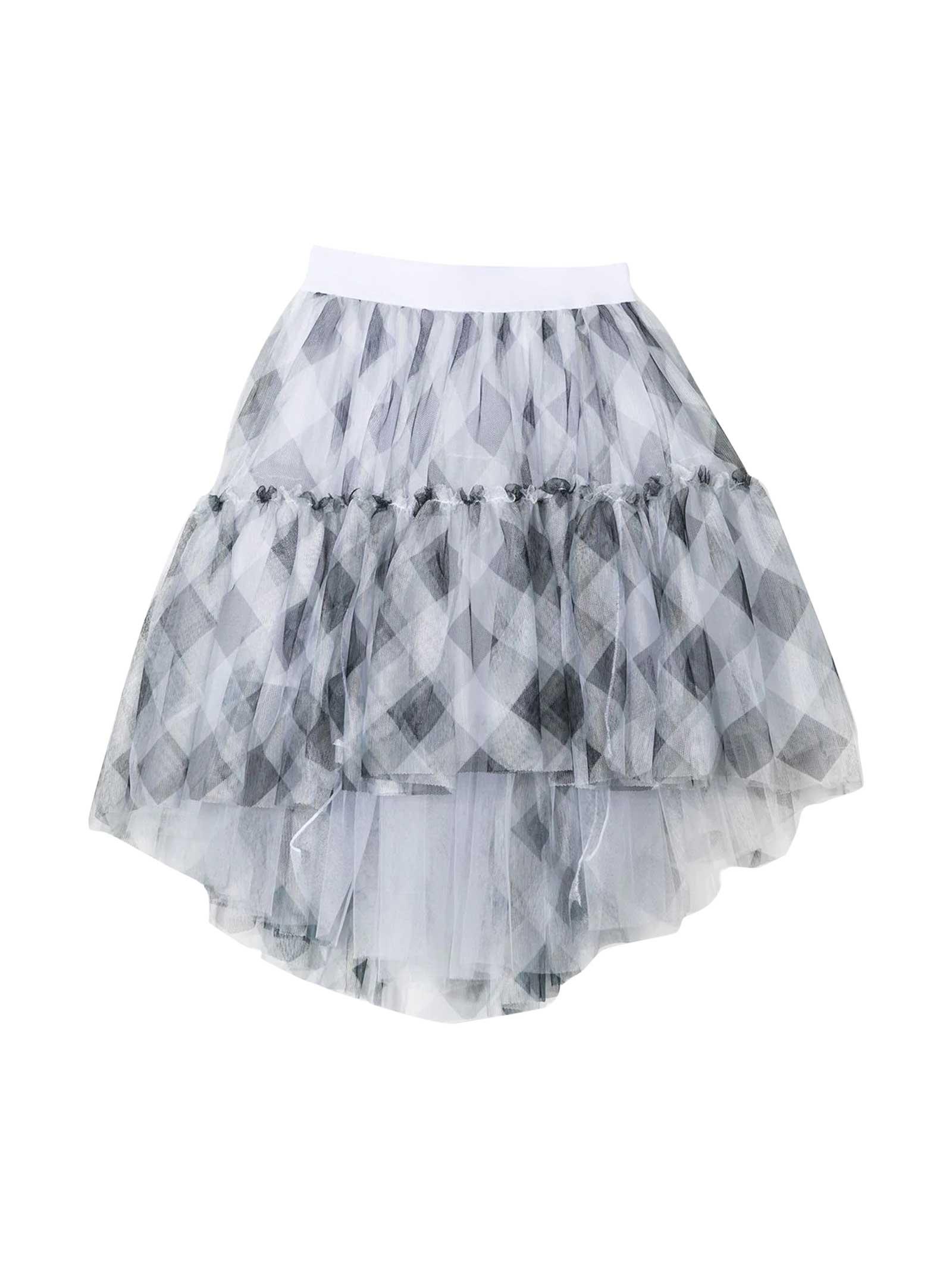 Monnalisa Print Skirt