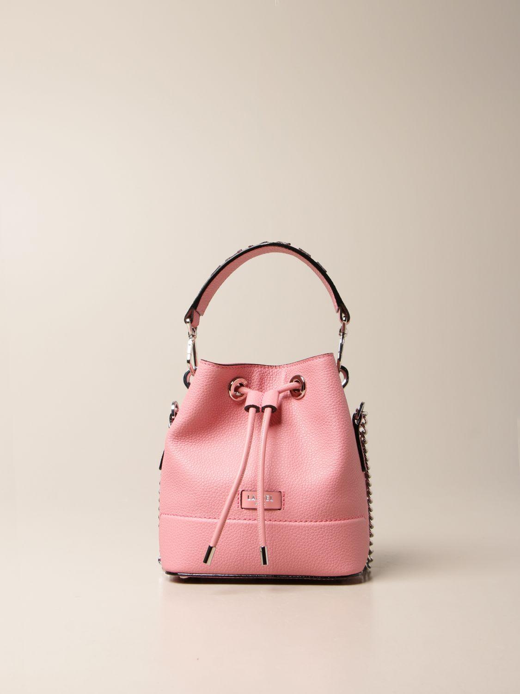 Lancel Mini Bag Lancel Bucket Bag In Hammered Leather