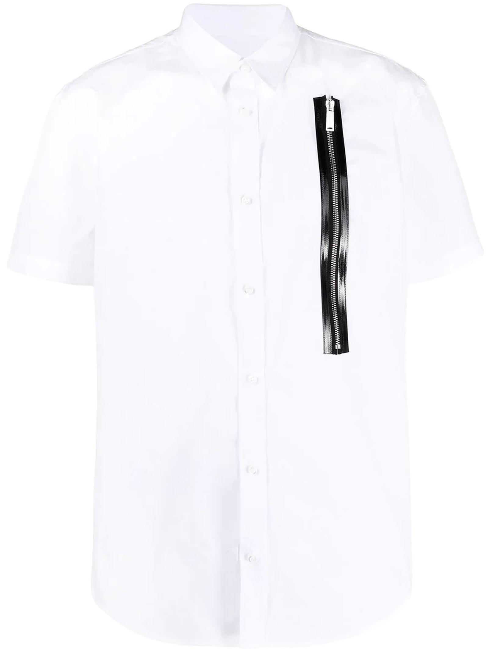 Dsquared2 White Cotton Shirt