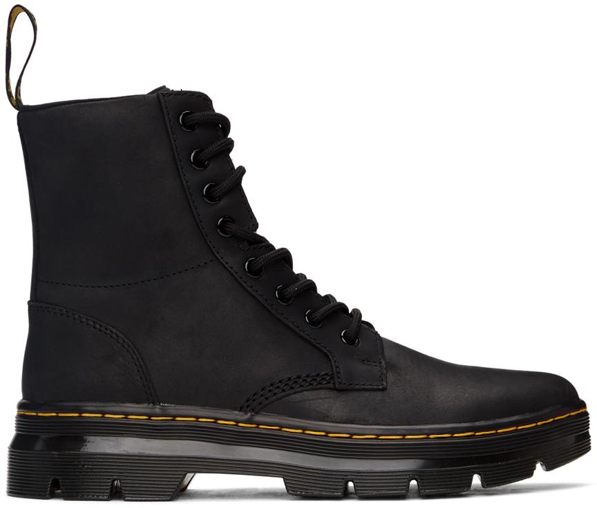 Dr. Martens 黑色 Combs 踝靴