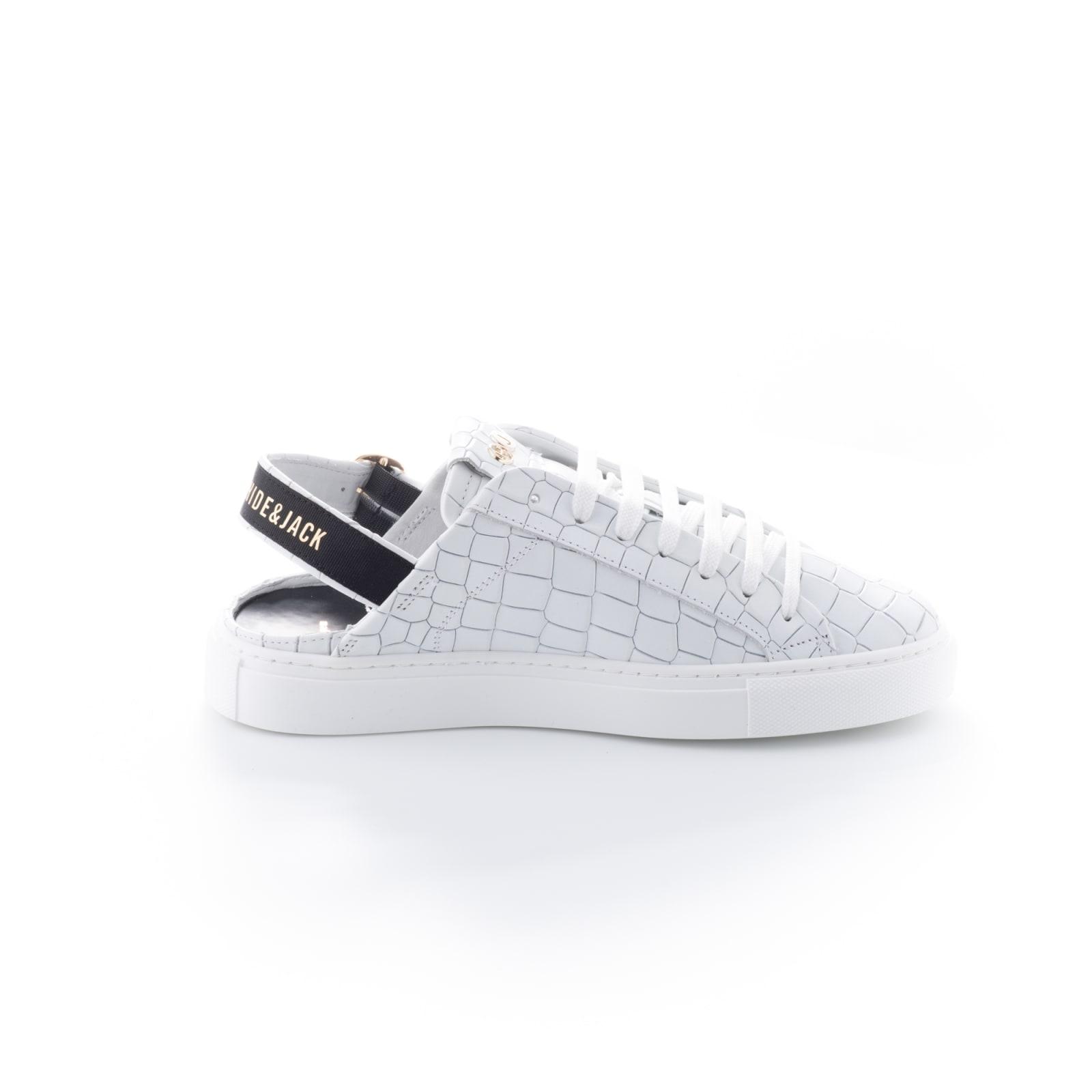 Hide & Jack Sabot White White Sneakers