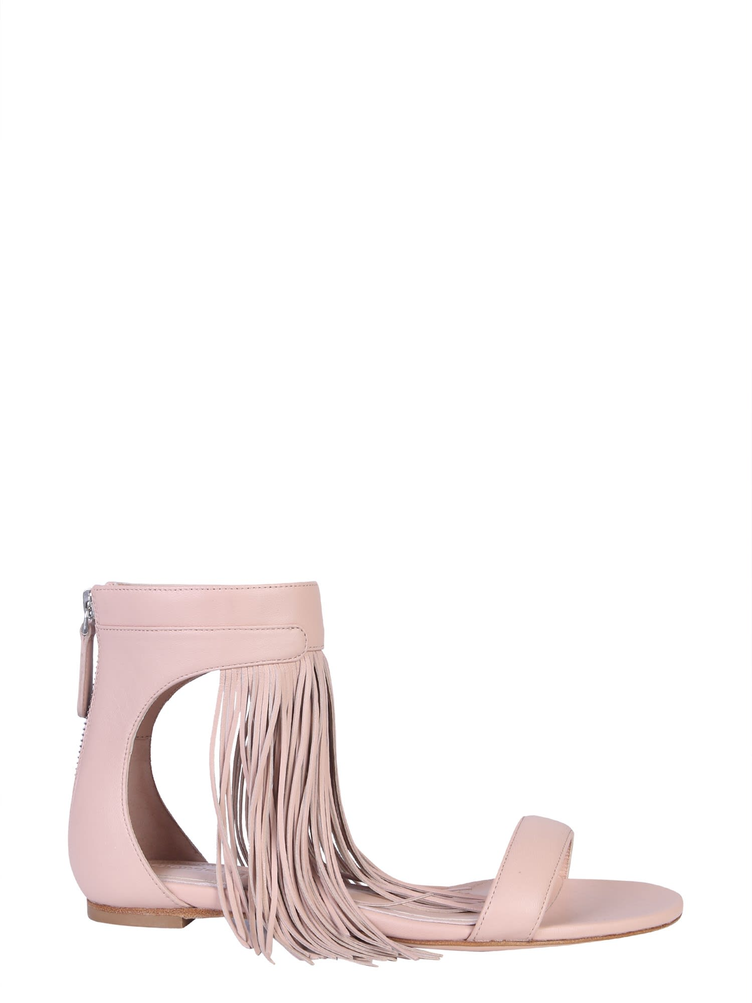 Alexander McQueen Sandal With Fringes