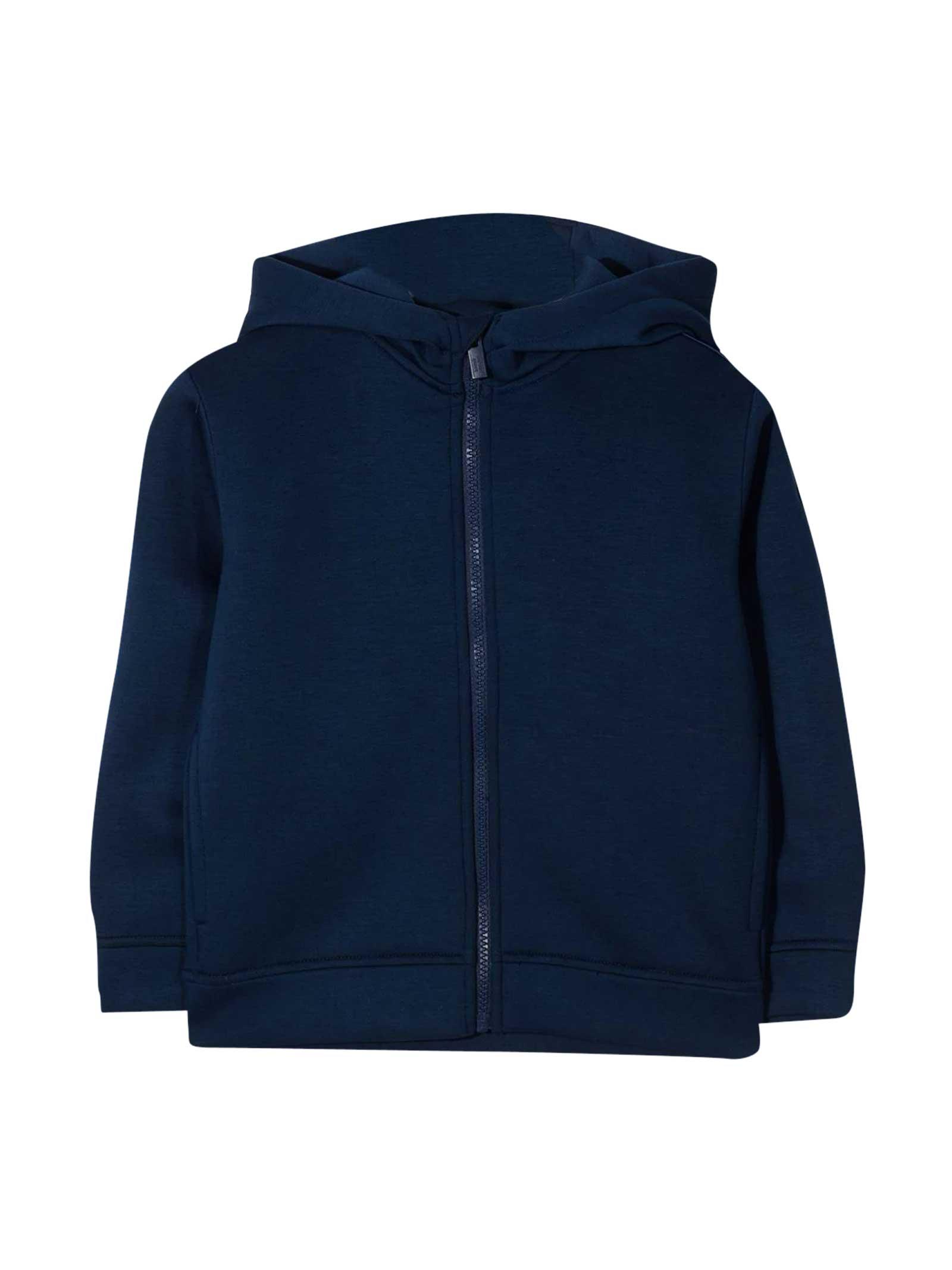 Emporio Armani Blue Sweatshirt