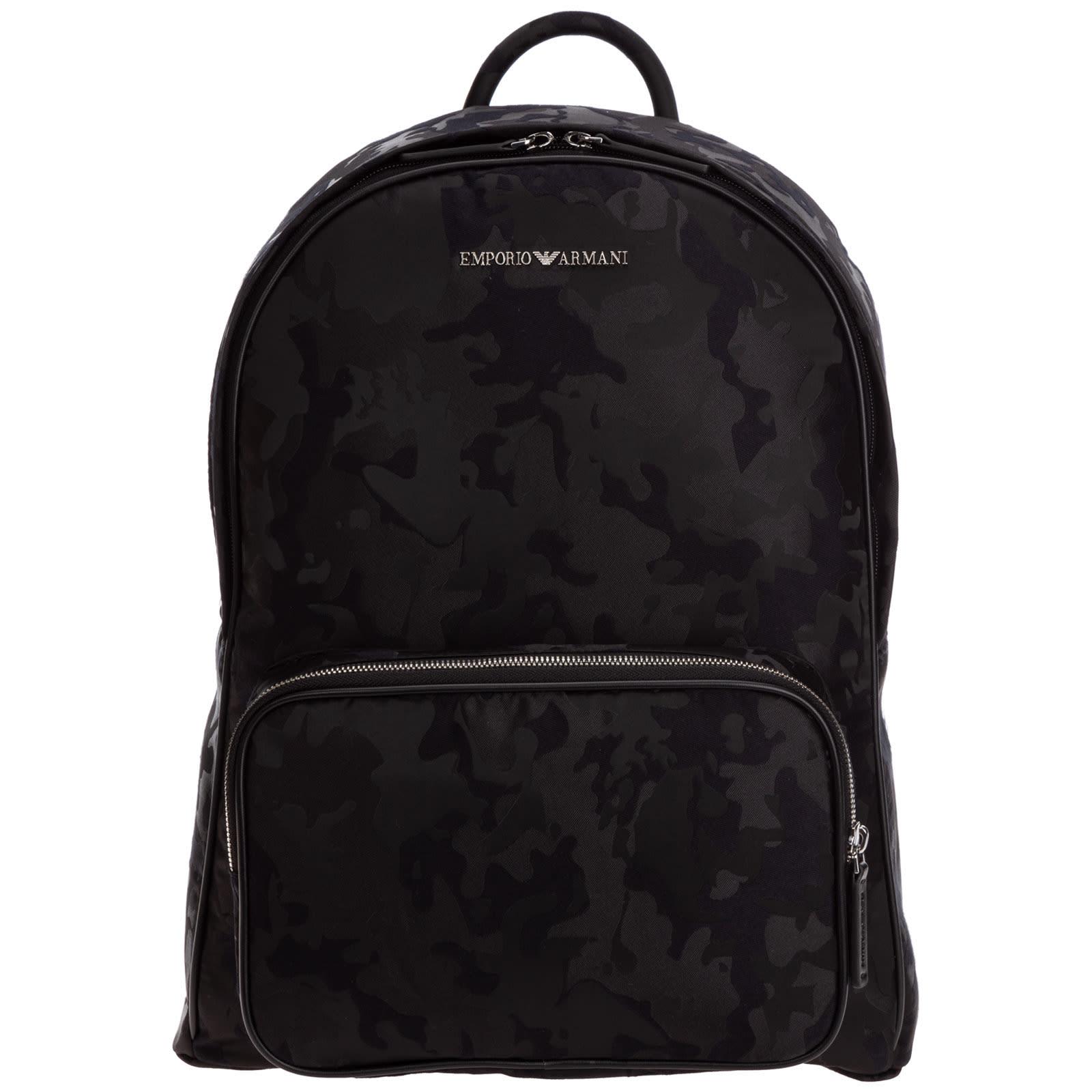 Emporio Armani Tuscan Leather Backpack