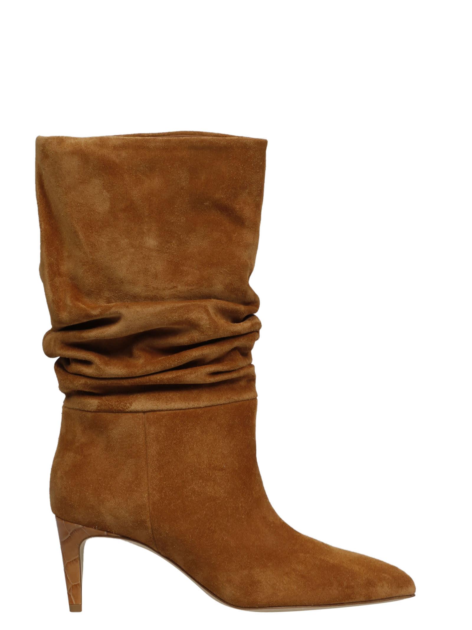Paris Texas Suede Soulchy Boots