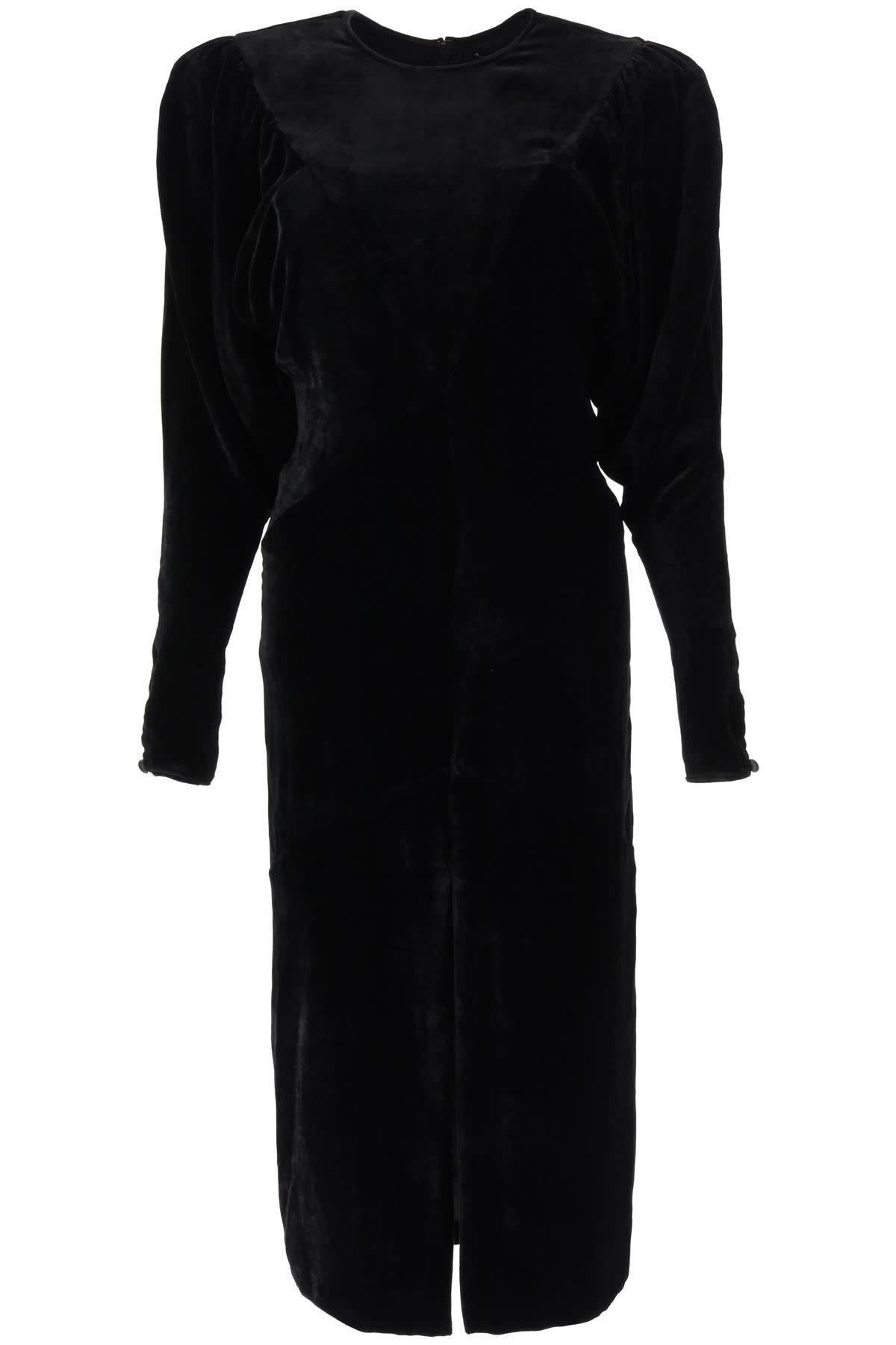 Isabel Marant Geniasi I Velvet Dress