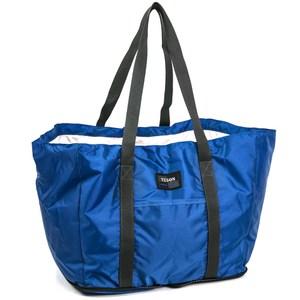 【YESON】經典時尚型摺疊購物袋(MG-661)MG-661-藍