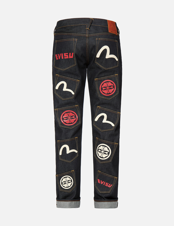 Multi Pocket Regular Fit Jeans #2008