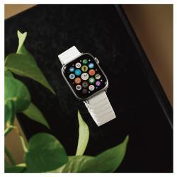 ALLTIME │完全計時│Apple watch通用錶帶精緻方格陶瓷錶帶