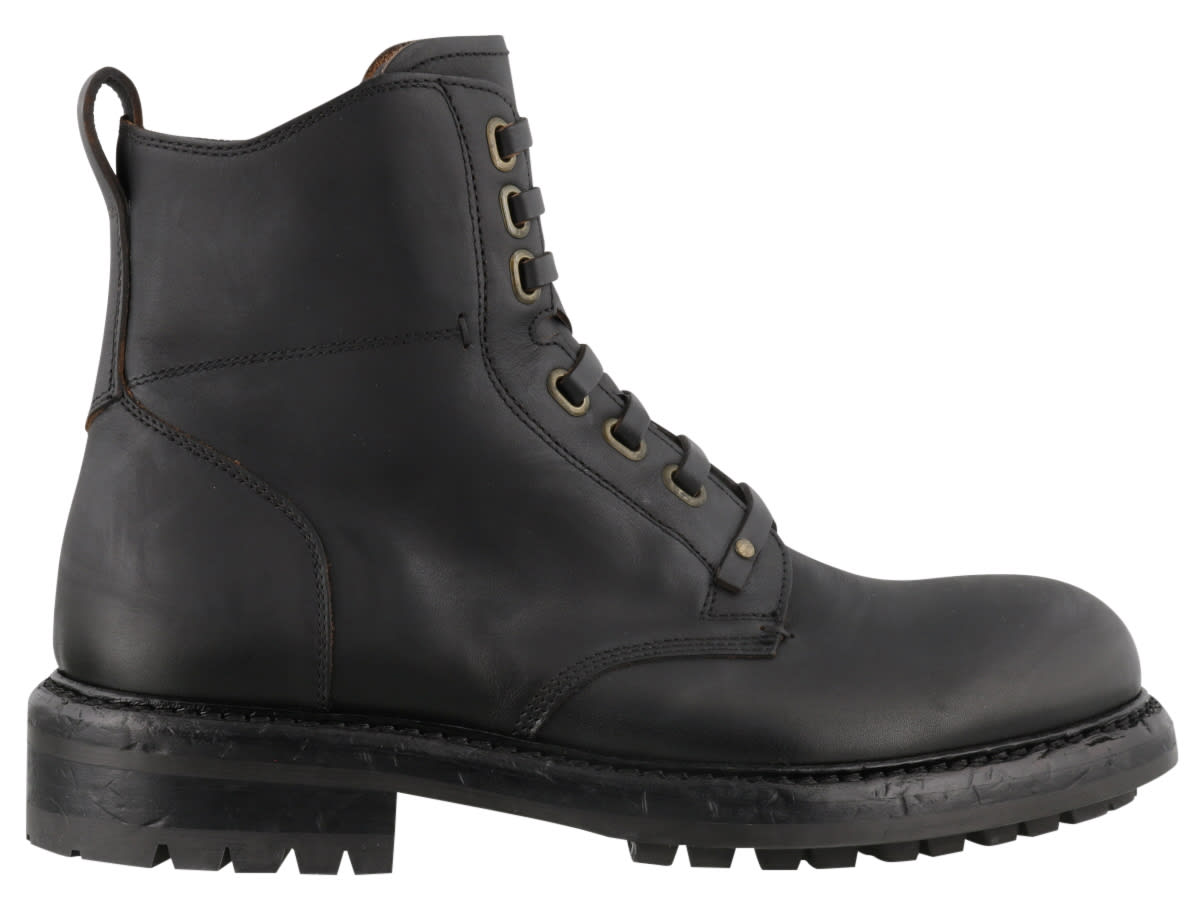 Dolce & Gabbana Pull Up Boots