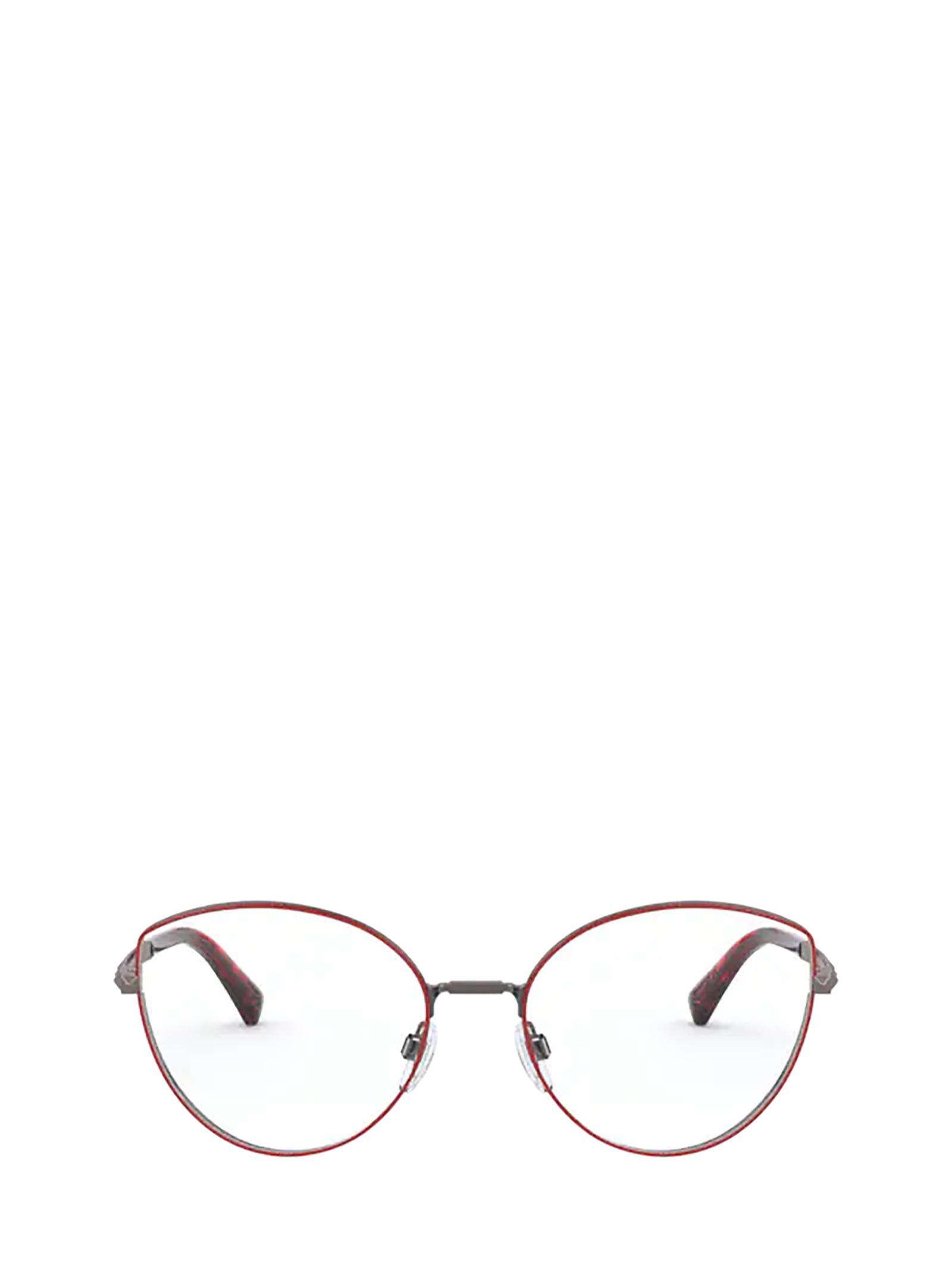 Valentino Valentino Va1018 Gunmetal / Red Glasses