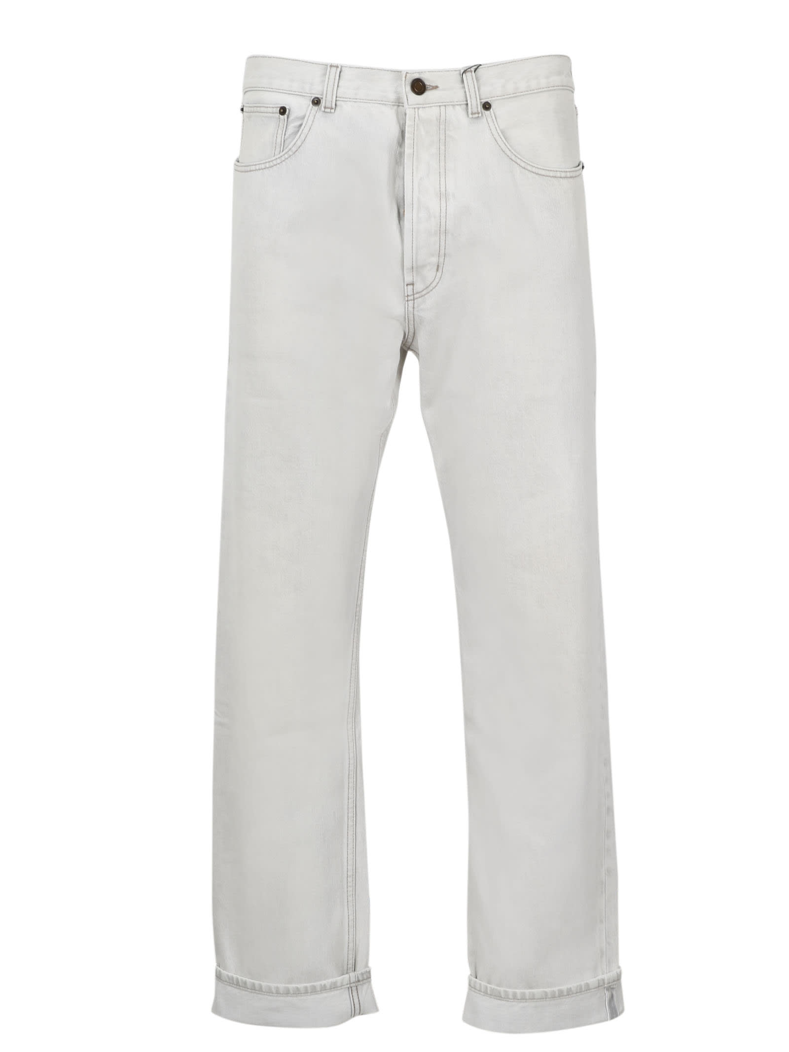 Saint Laurent Relaxed Straight Jeans