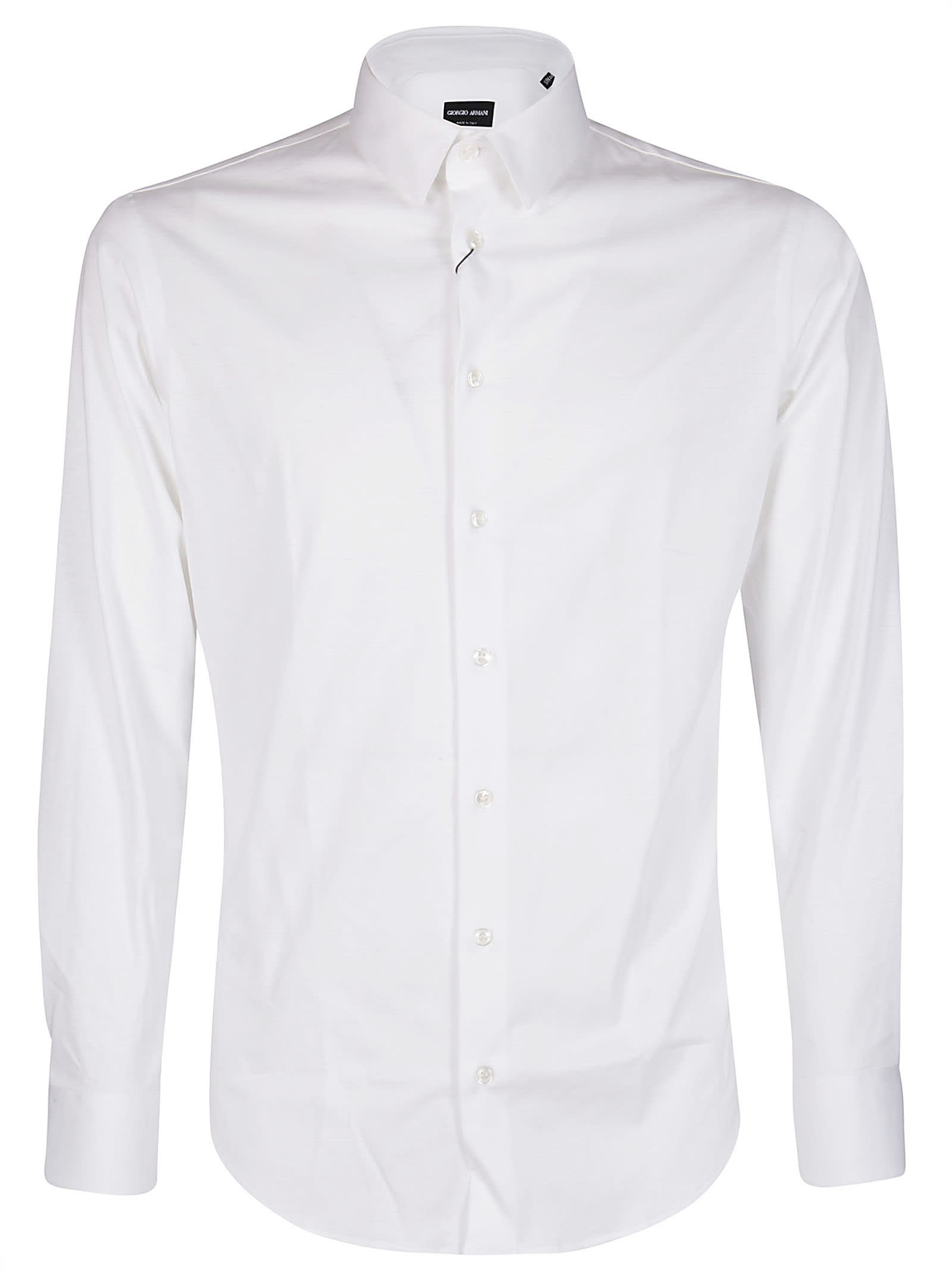 Giorgio Armani White Cotton Shirt