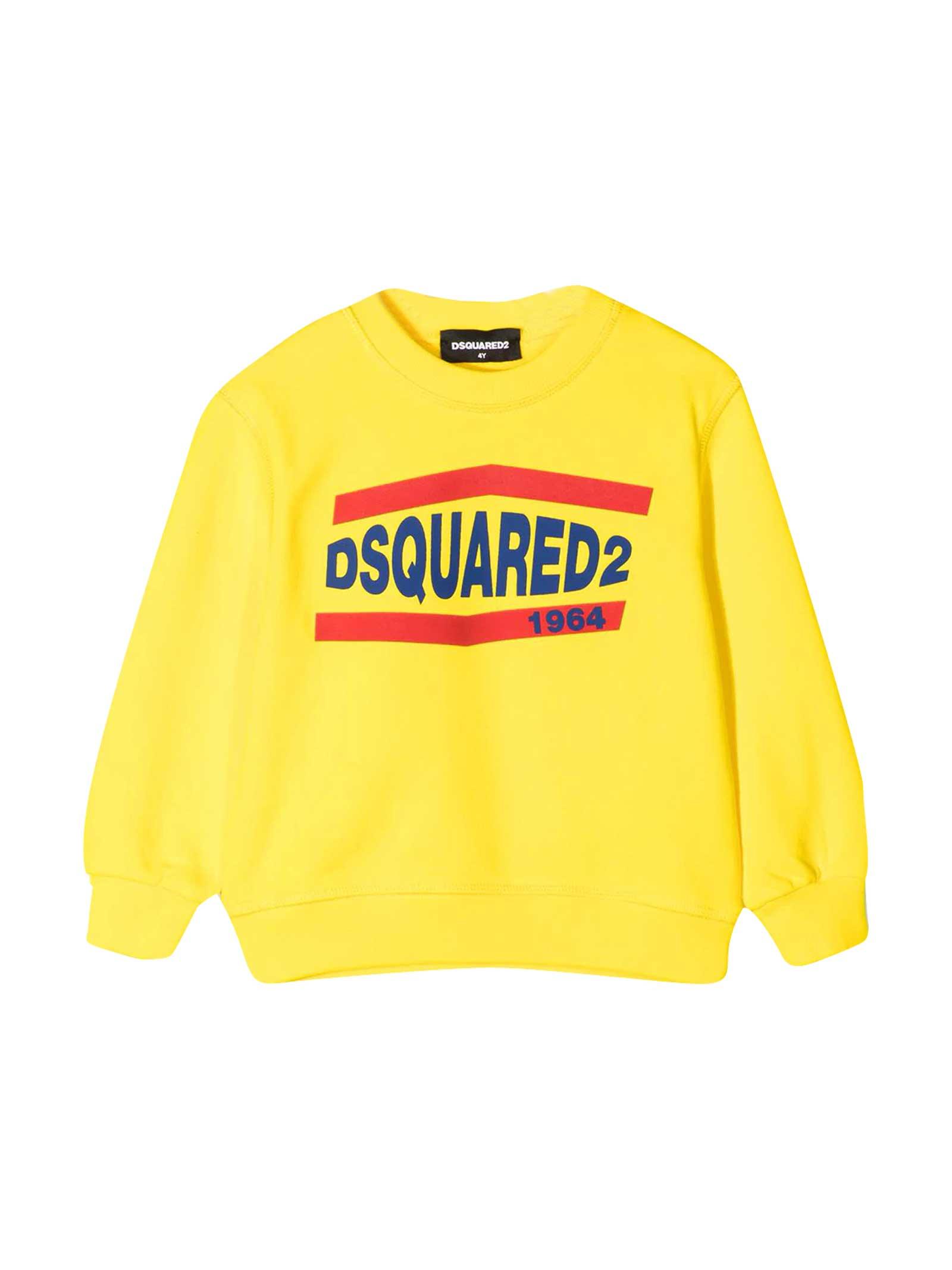 Dsquared2 Yellow Sweatshirt