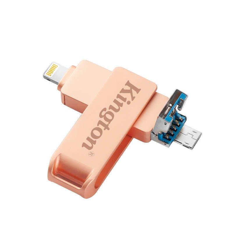 金仕盾128g手機u盤512G蘋果安卓電腦通用三合一256G多功能優盤1TB