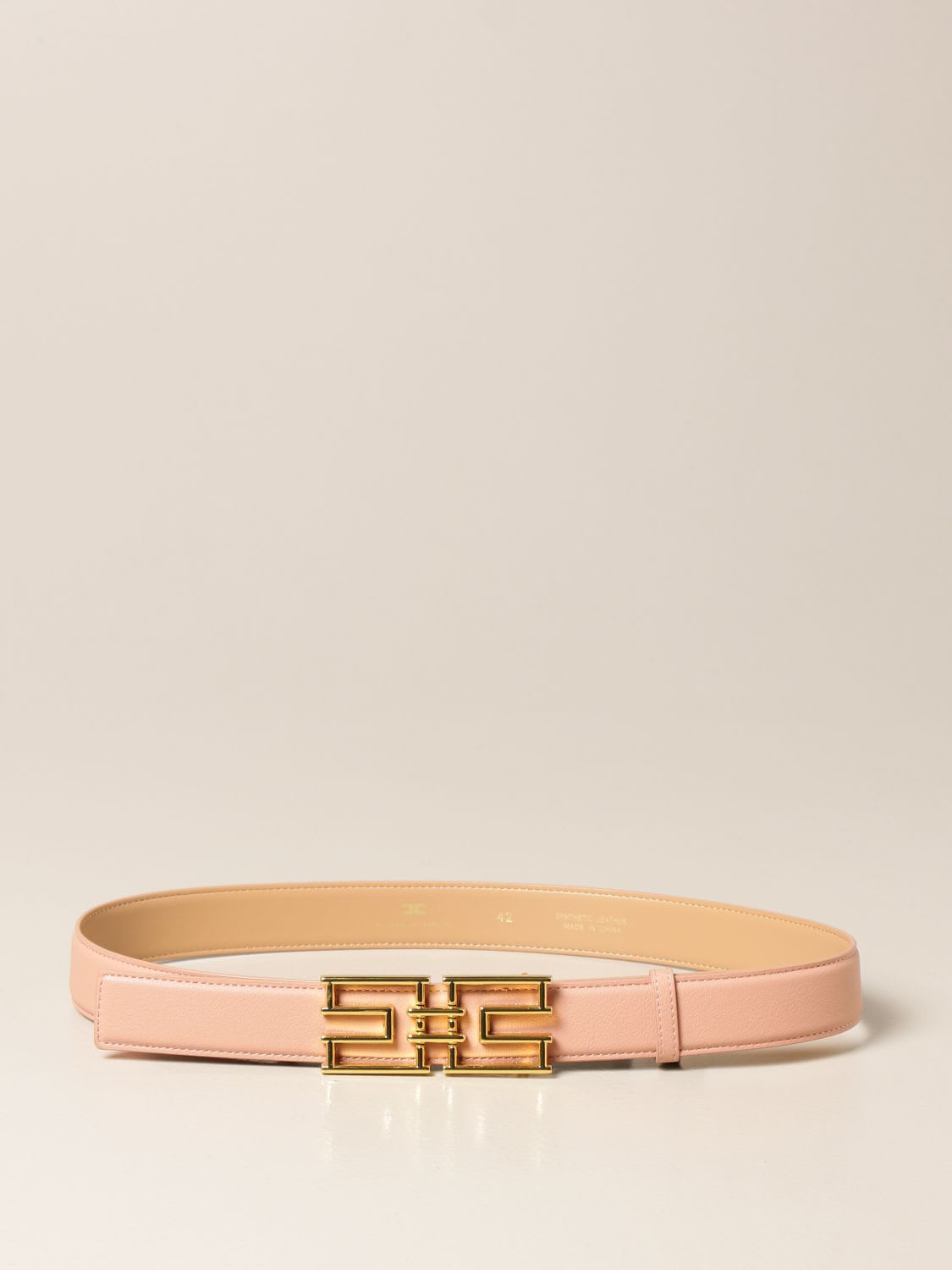 Elisabetta Franchi Belt Elisabetta Franchi Belt In Synthetic Leather With Logo