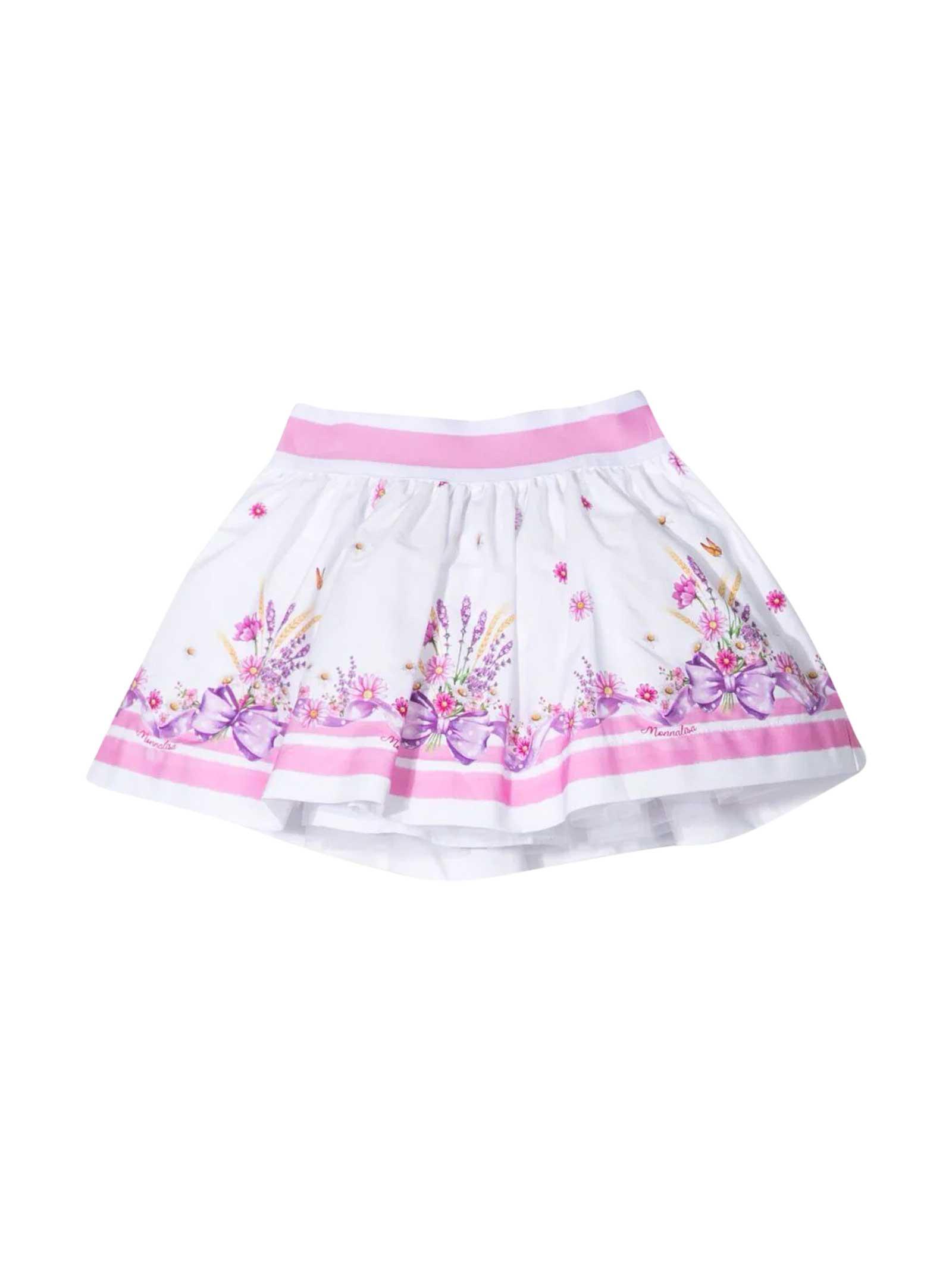 Monnalisa Pleated Skirt