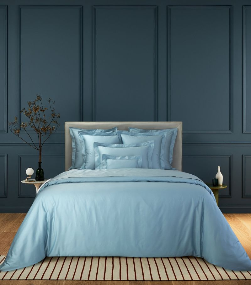 Yves Delorme Triomph Horizon Single Fitted Sheet (90Cm X 190Cm)