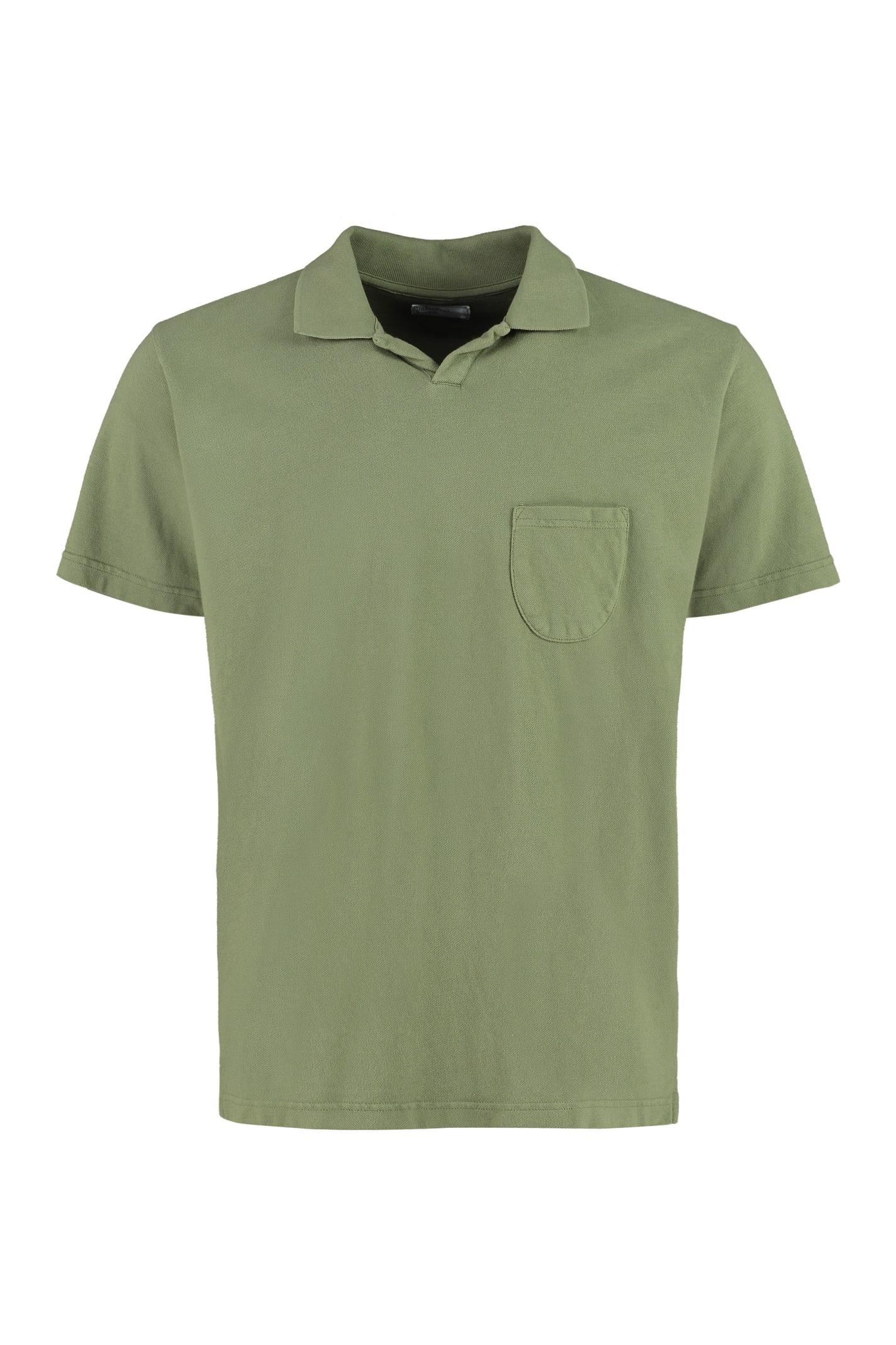 Universal Works Cotton-piqué Polo Shirt